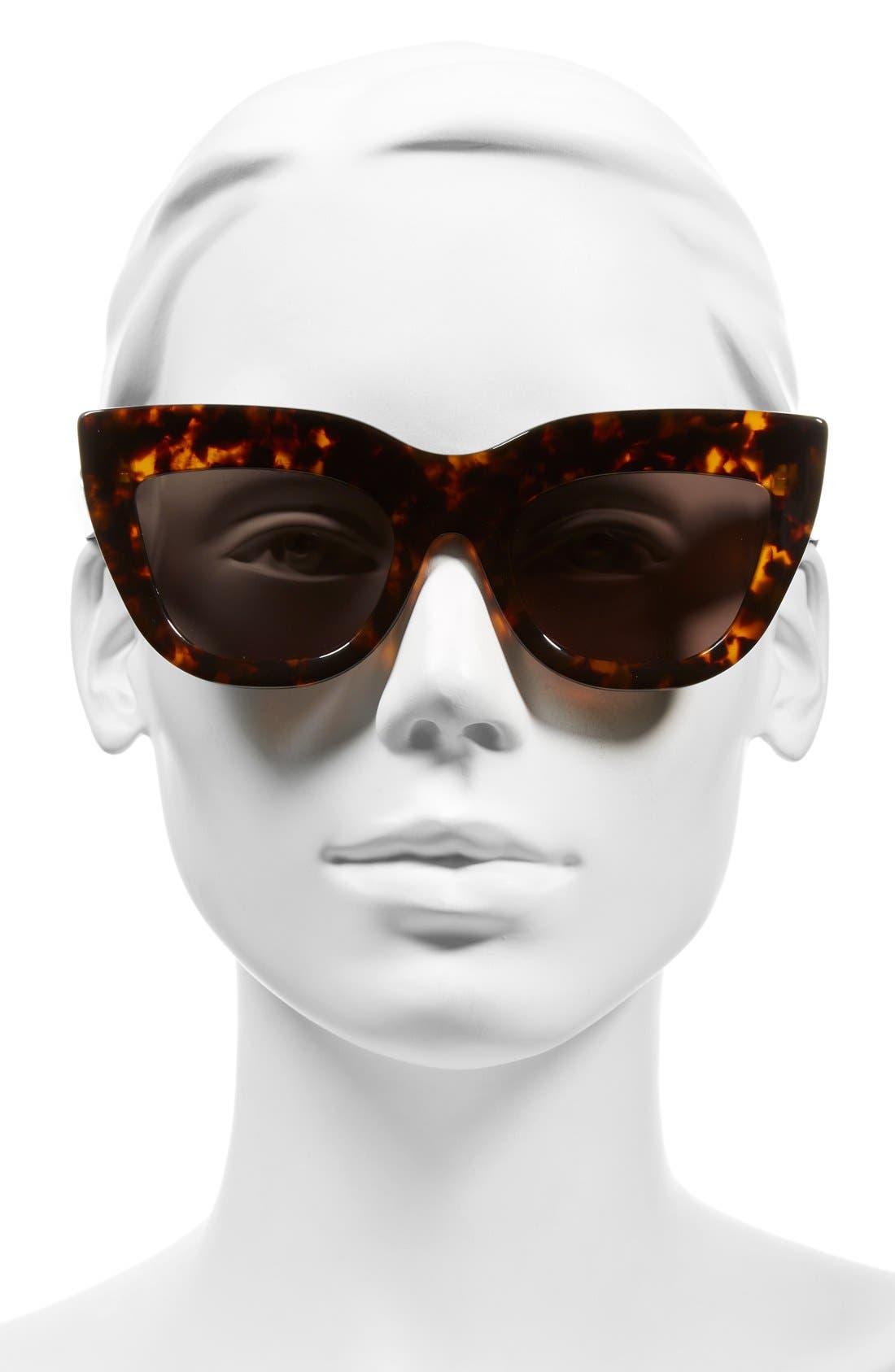 Alternate Image 2  - VALLEY Marmont 52mm Cat Eye Sunglasses