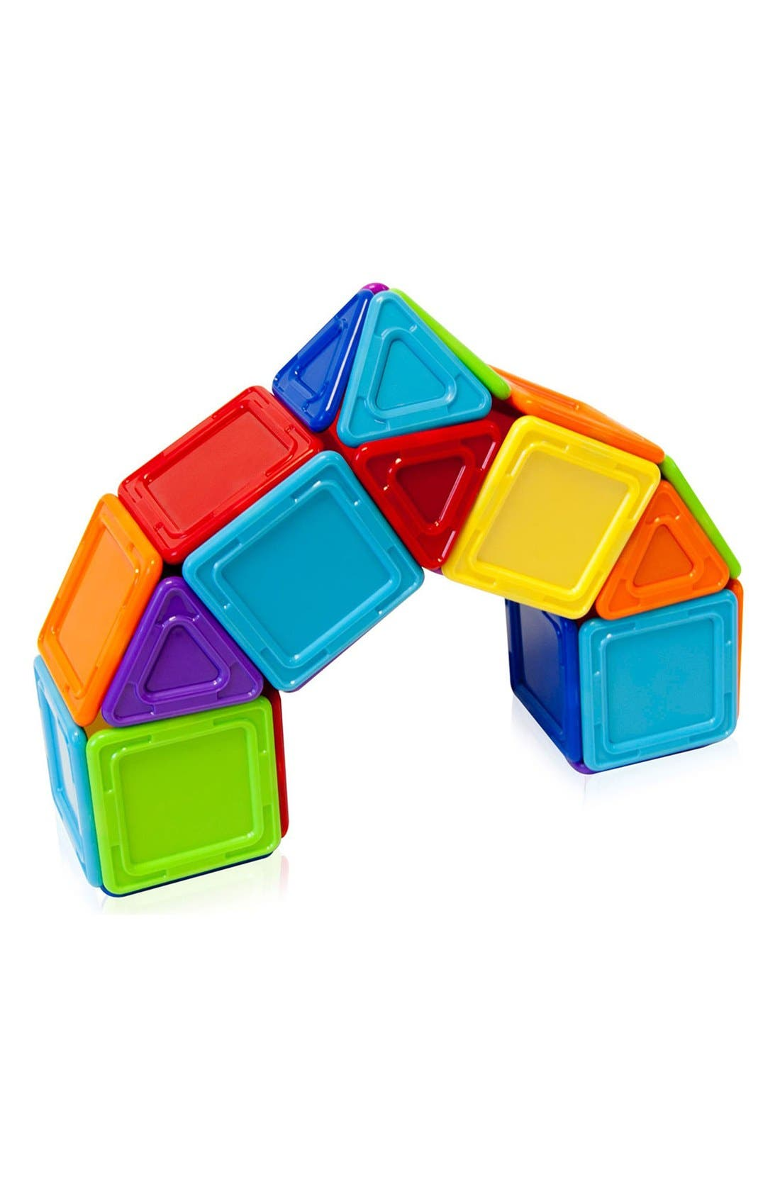 'Standard - Solids' Opaque Magnetic 3D Construction Set,                             Alternate thumbnail 5, color,                             Opaque Rainbow