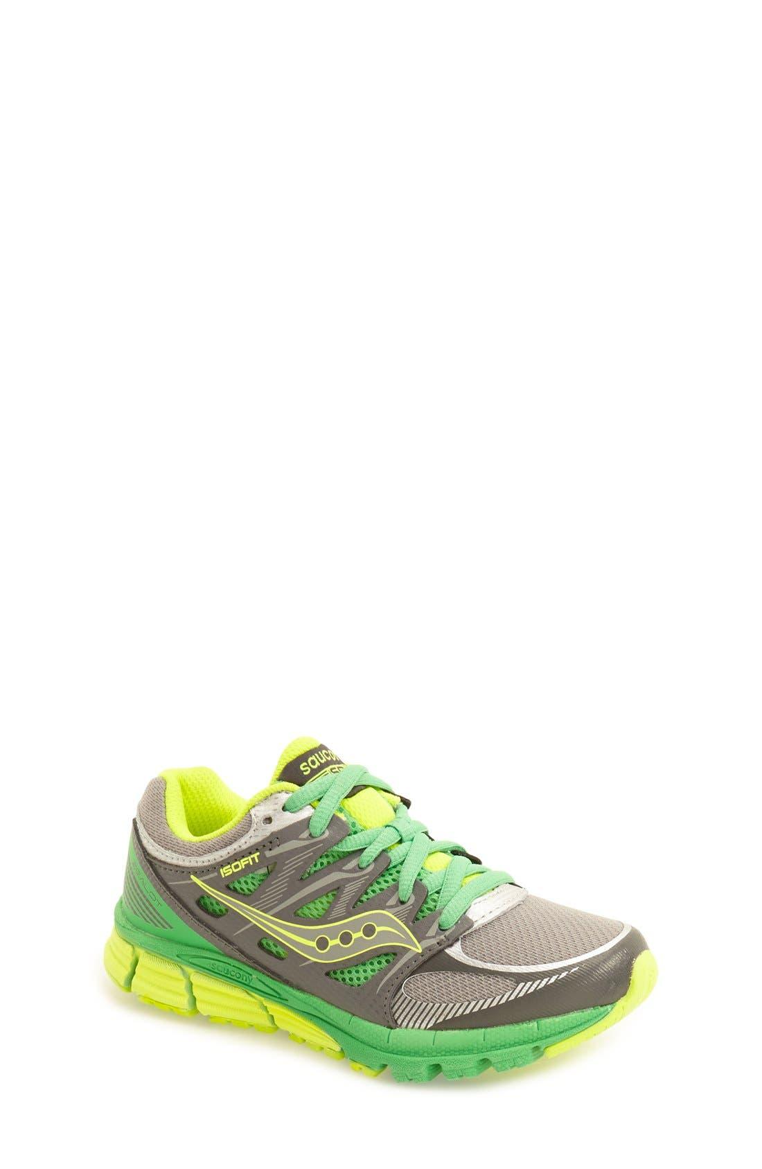 Alternate Image 1 Selected - Saucony 'Zealot' Athletic Shoe (Toddler, Little Kid & Big Kid)