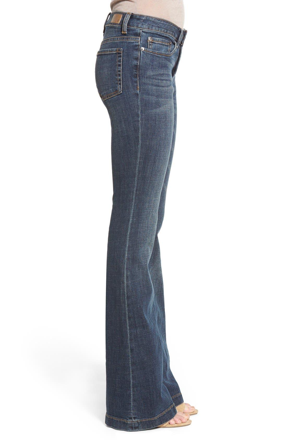 Alternate Image 3  - BP. Mid Rise Flare Jeans (Dark Bloom)