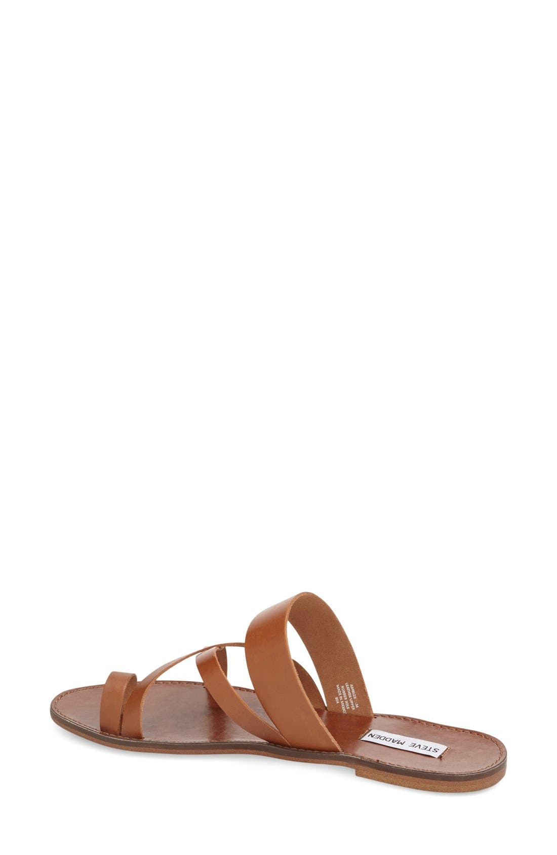 'Ambler' Sandal,                             Alternate thumbnail 2, color,                             Tan Leather