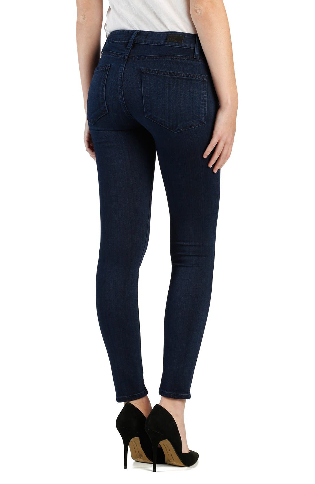 Alternate Image 2  - PAIGE 'Transcend - Verdugo' Ultra Skinny Ankle Jeans (Holly)