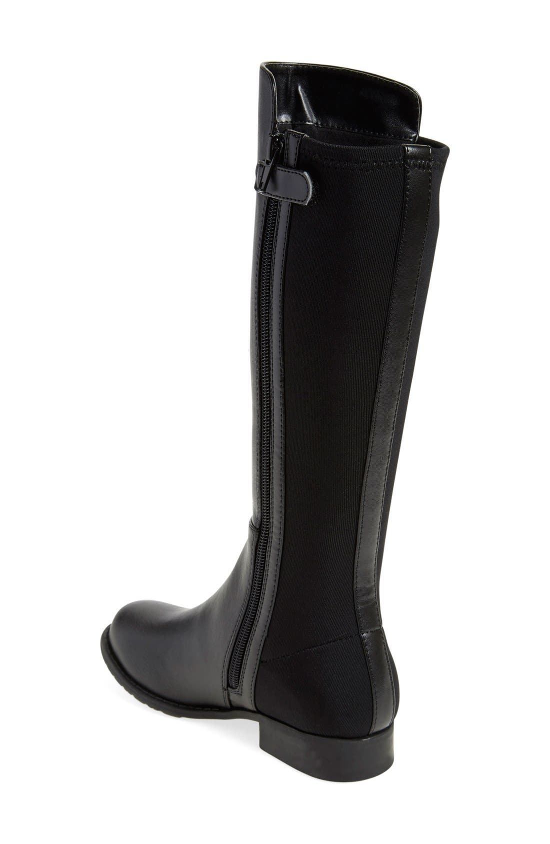 Alternate Image 2  - Stuart Weitzman '50/50' Stretch Back Riding Boot (Walker, Toddler, Little Kid & Big Kid)