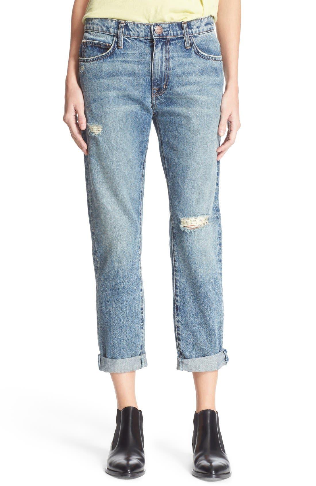 Main Image - Current/Elliott 'The Fling' Jeans (Bedford Destroyed)