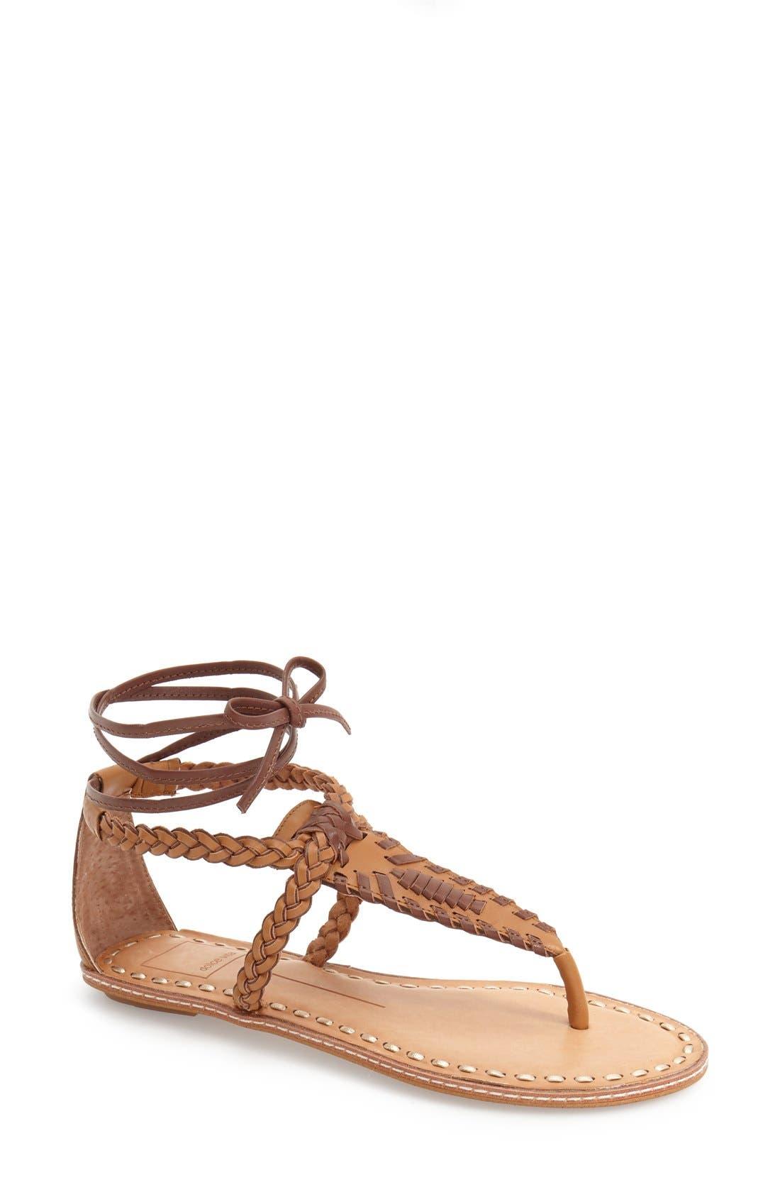 Alternate Image 1 Selected - Dolce Vita 'Keoni' Flat Sandal (Women)
