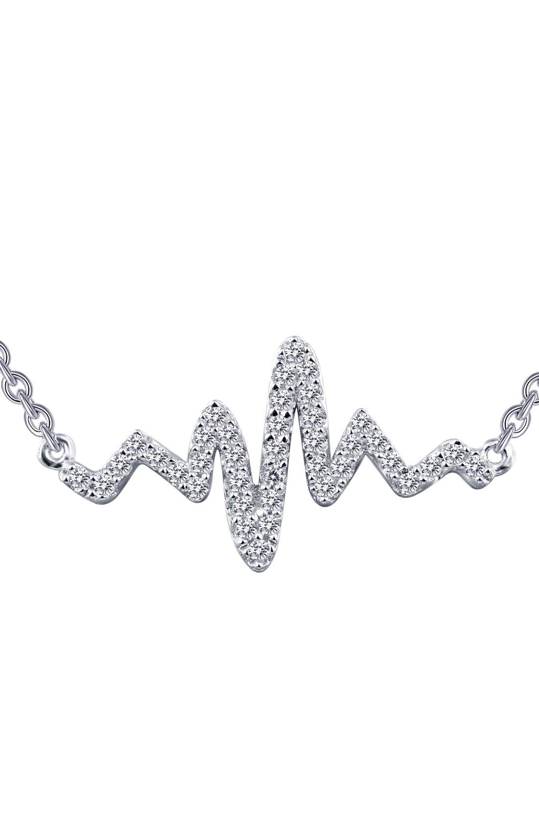 LAFONN Lassaire Heartbeat Pendant Necklace