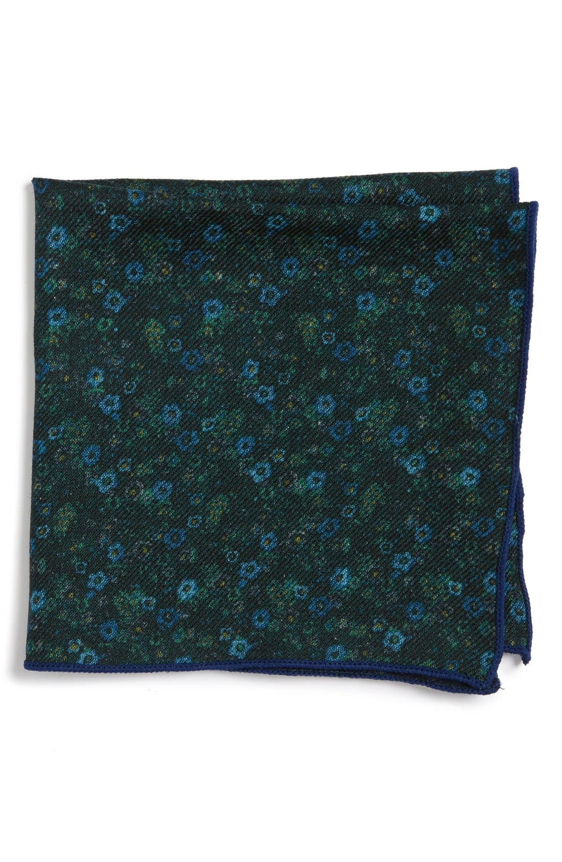 Alternate Image 1 Selected - The Tie Bar Floral Wool Pocket Square