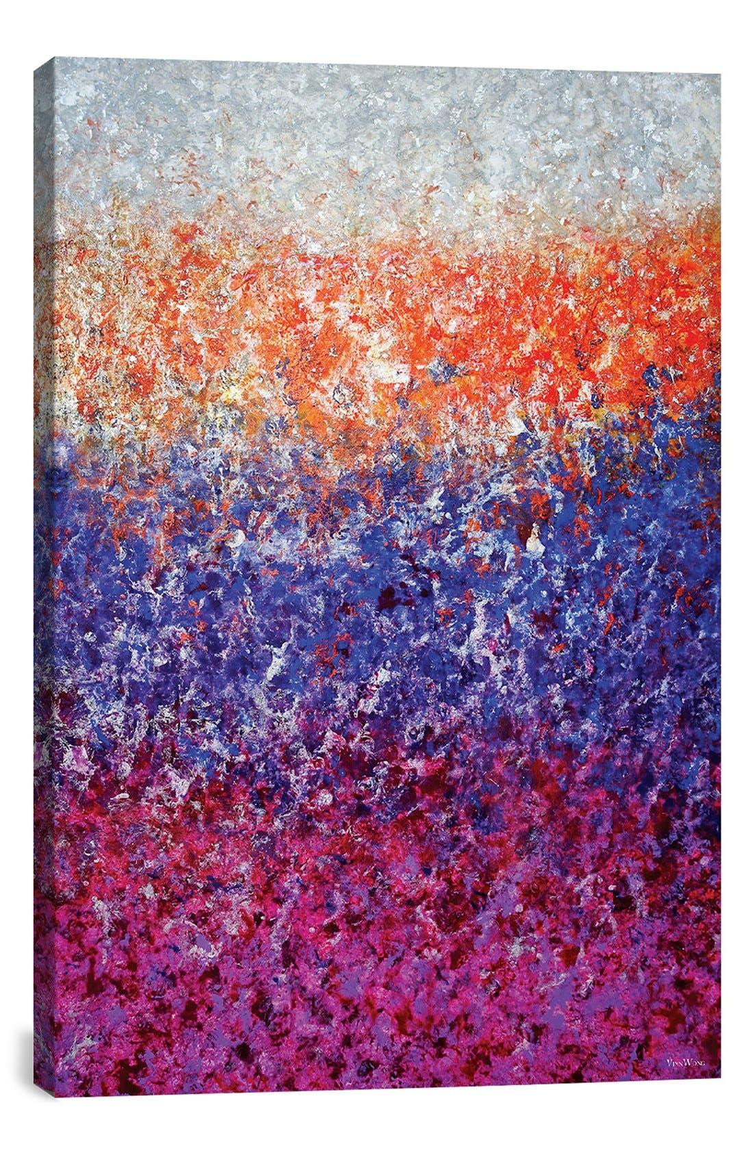'Dying Light' Giclée Print Canvas Art,                         Main,                         color, Purple
