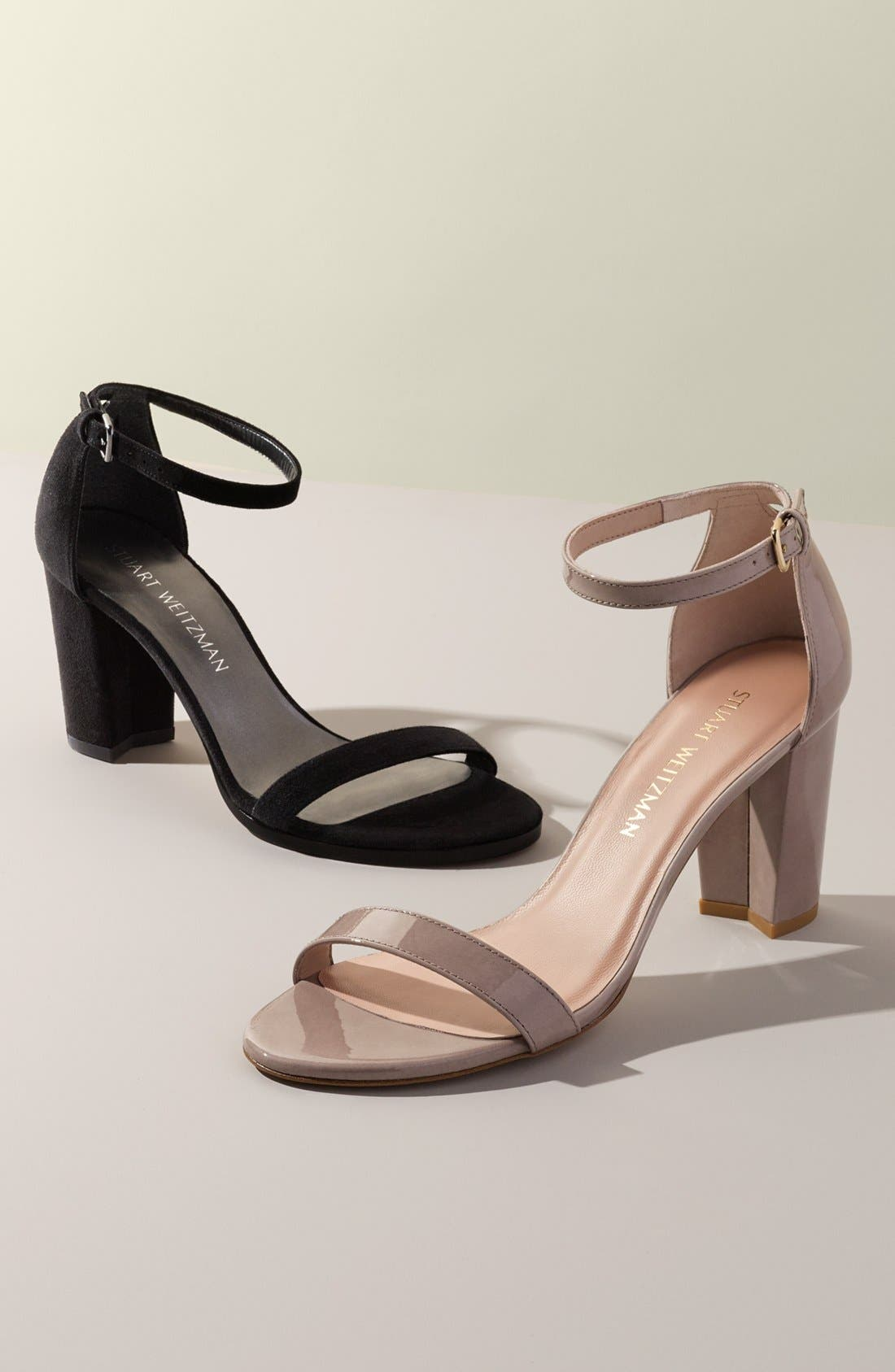 NearlyNude Ankle Strap Sandal,                             Alternate thumbnail 2, color,
