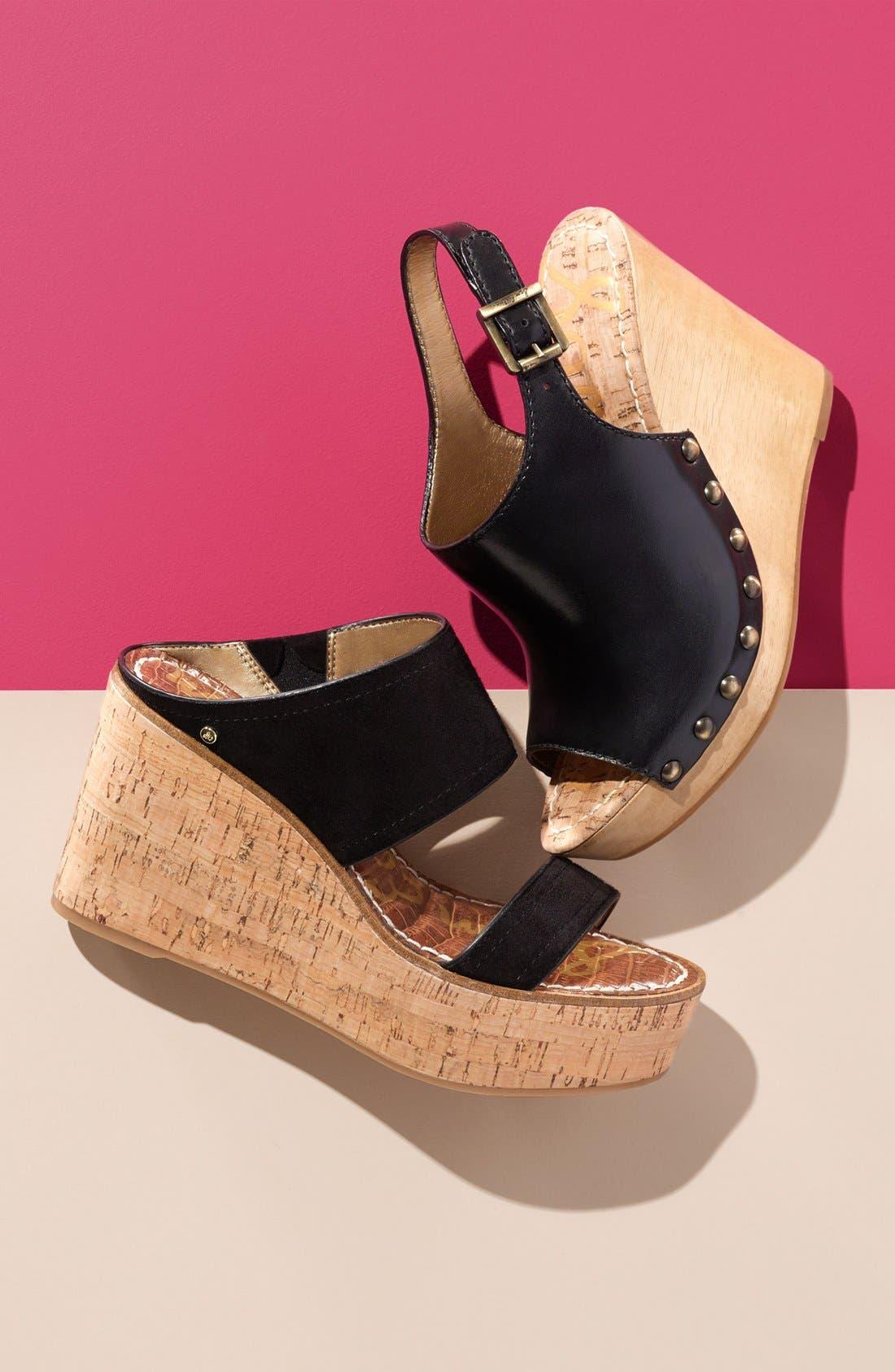 'Dali' Wedge Sandal,                             Alternate thumbnail 5, color,