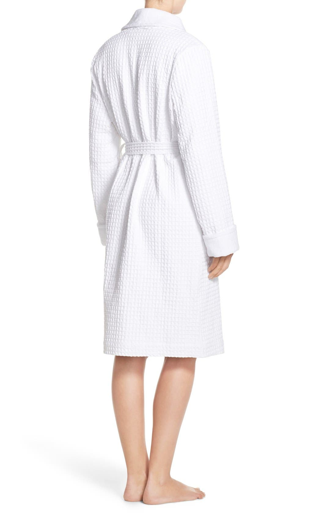 Alternate Image 2  - Nordstrom Lingerie Terry Cotton Robe