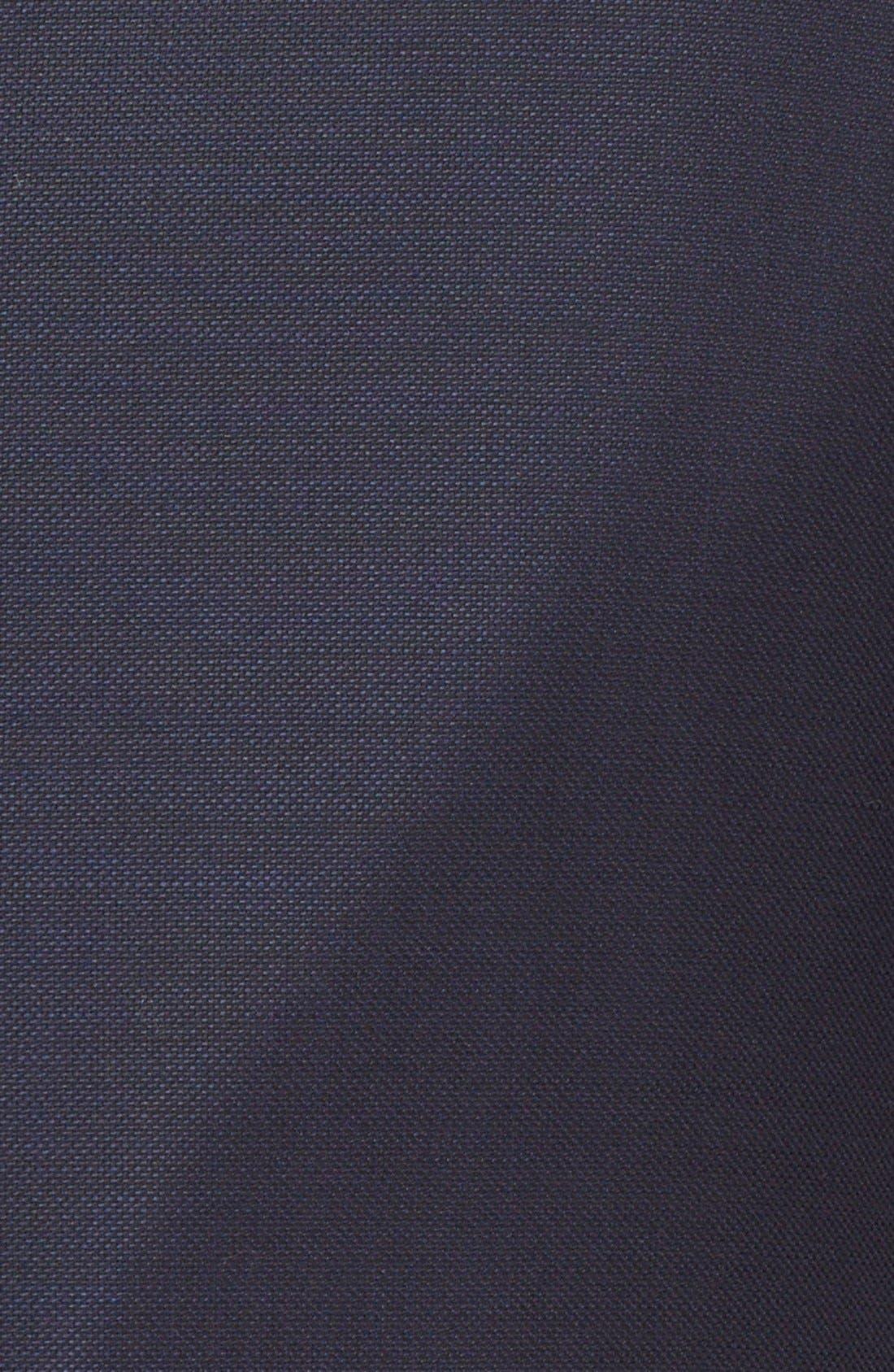 Alternate Image 6  - Armani Collezioni G-Line Trim Fit Wool Blazer
