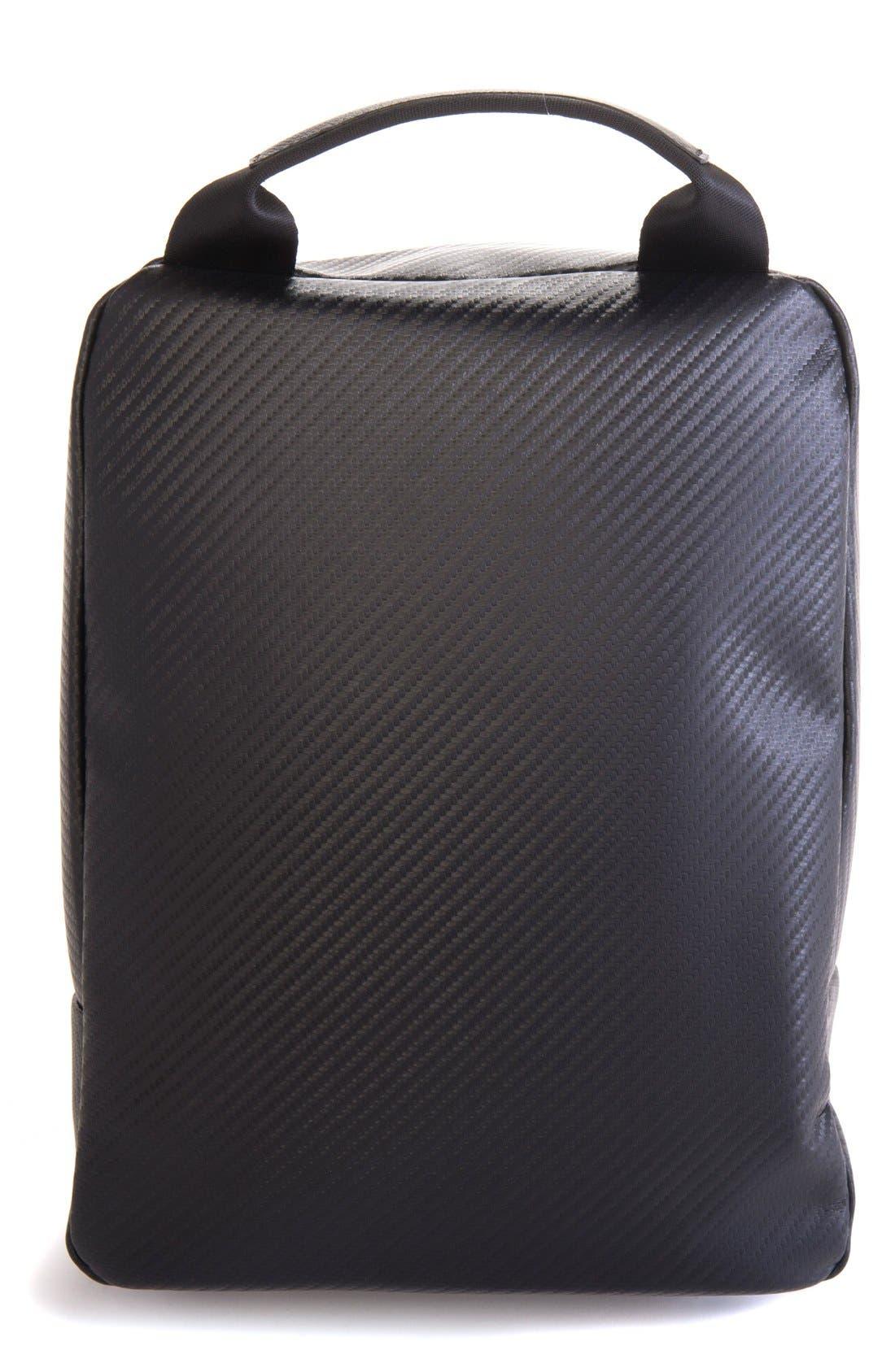 Alternate Image 2  - Vessel Pebbled Faux Leather Shoe Bag