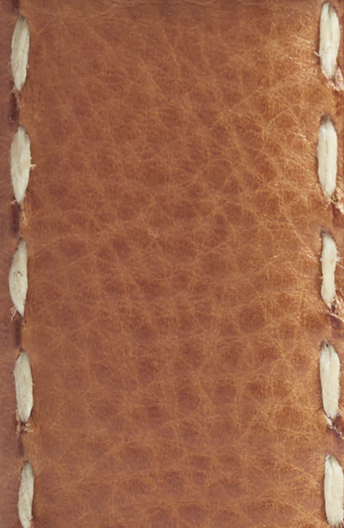 Alternate Image 2  - Torino Belts Calfskin Leather Belt