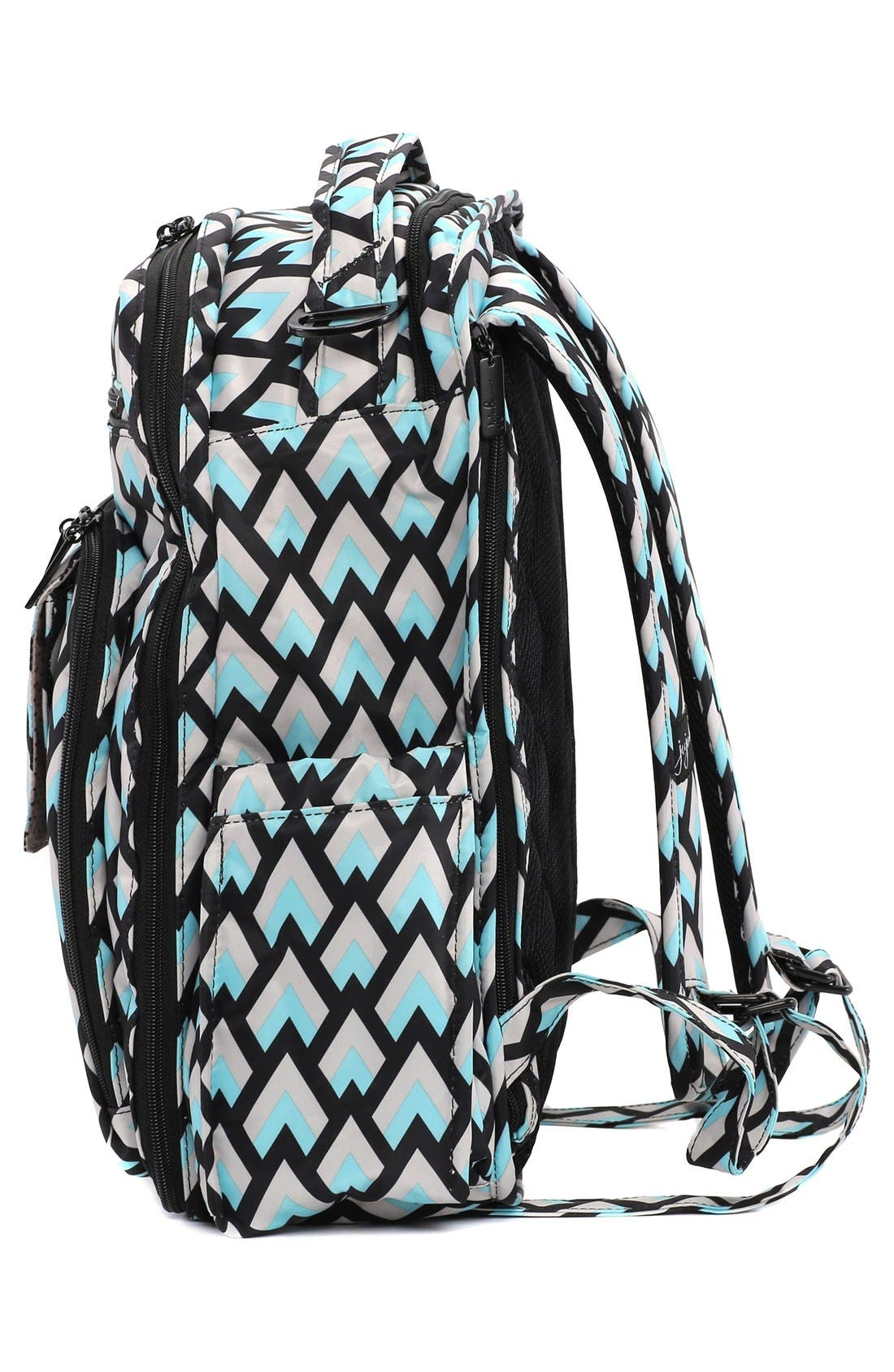 Alternate Image 5  - Ju-Ju-Be 'Be Right Back - Onyx Collection' Diaper Backpack