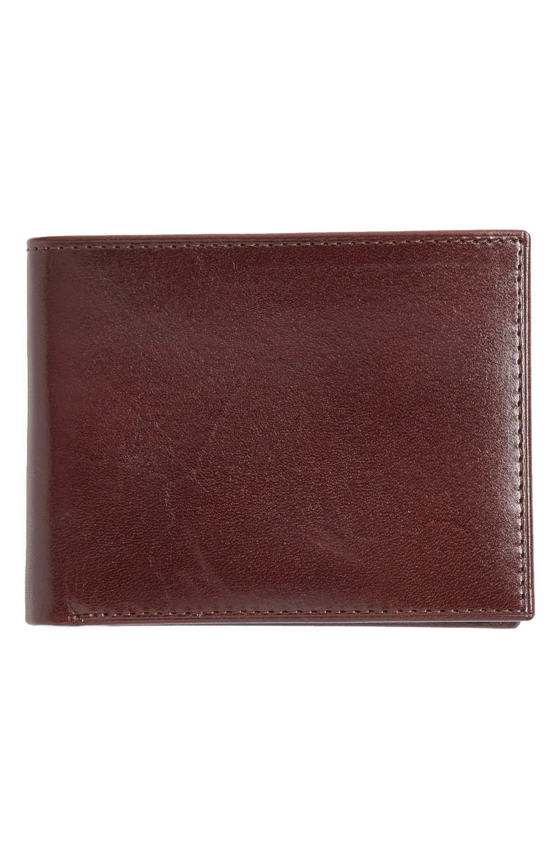Johnston & Murphy Slimfold Leather Wallet