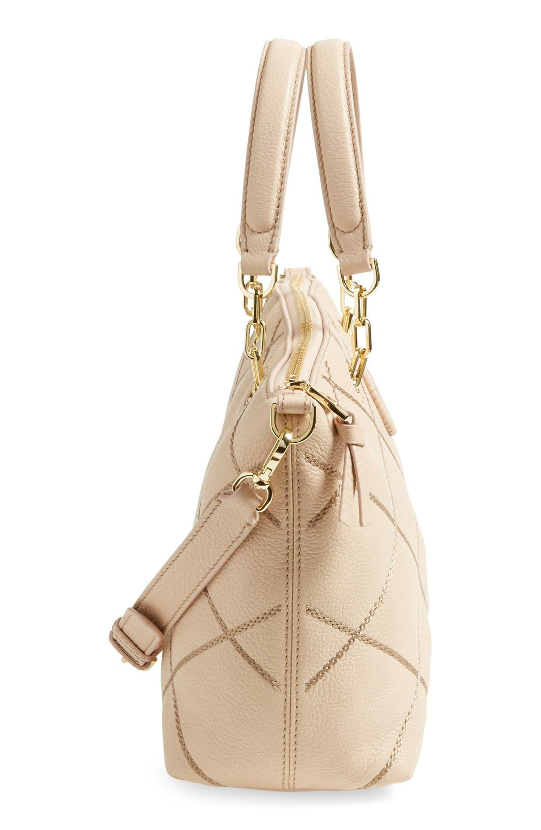 Alternate Image 5  - Tory Burch 'Small Stitch' Leather Satchel (Nordstrom Exclusive)