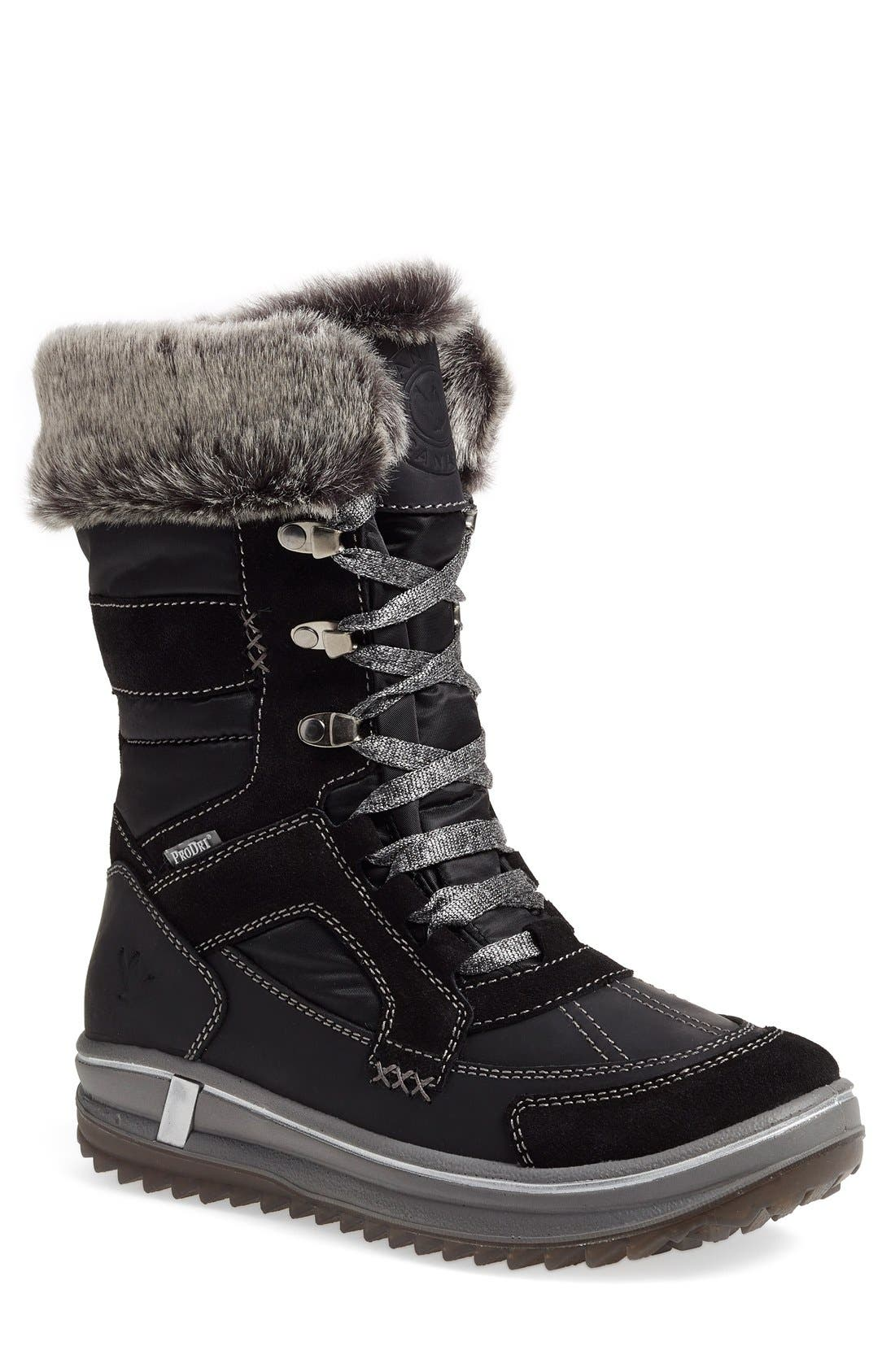 Santana Canada 'Marta' Water Resistant Insulated Winter Boot (Women)