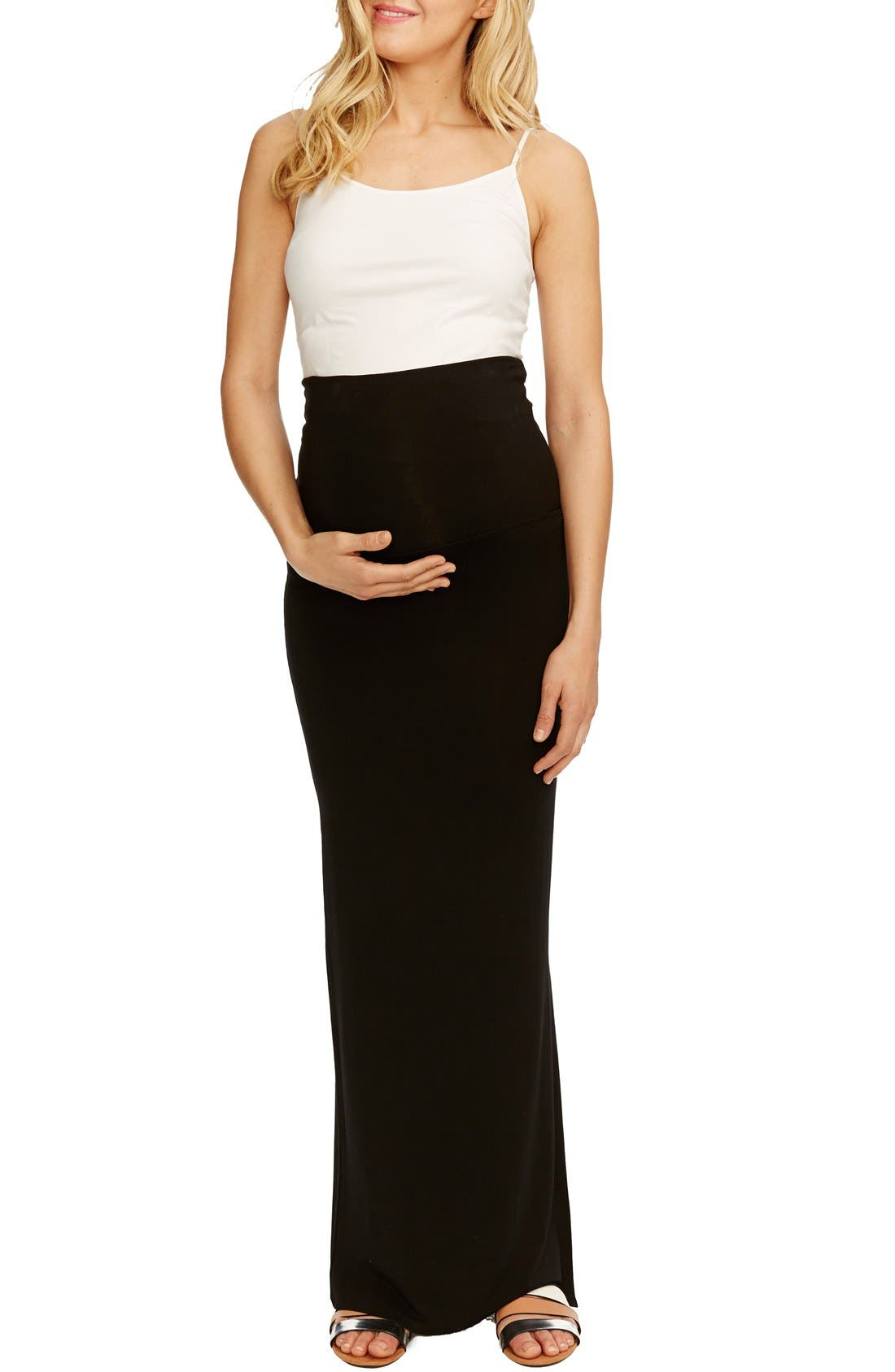 Alternate Image 1 Selected - Rosie Pope 'Jessica' Maternity Maxi Skirt
