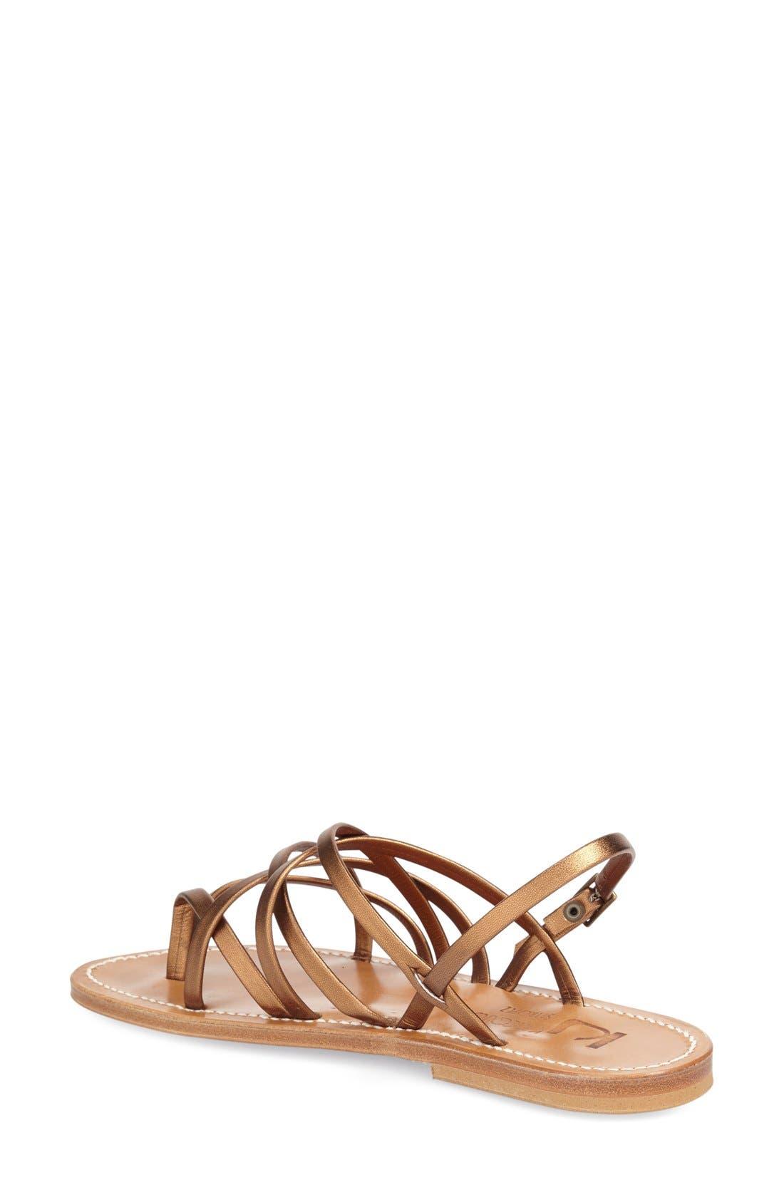 Alternate Image 2  - K.Jacques St. Tropez Strappy Flat Sandal (Women)