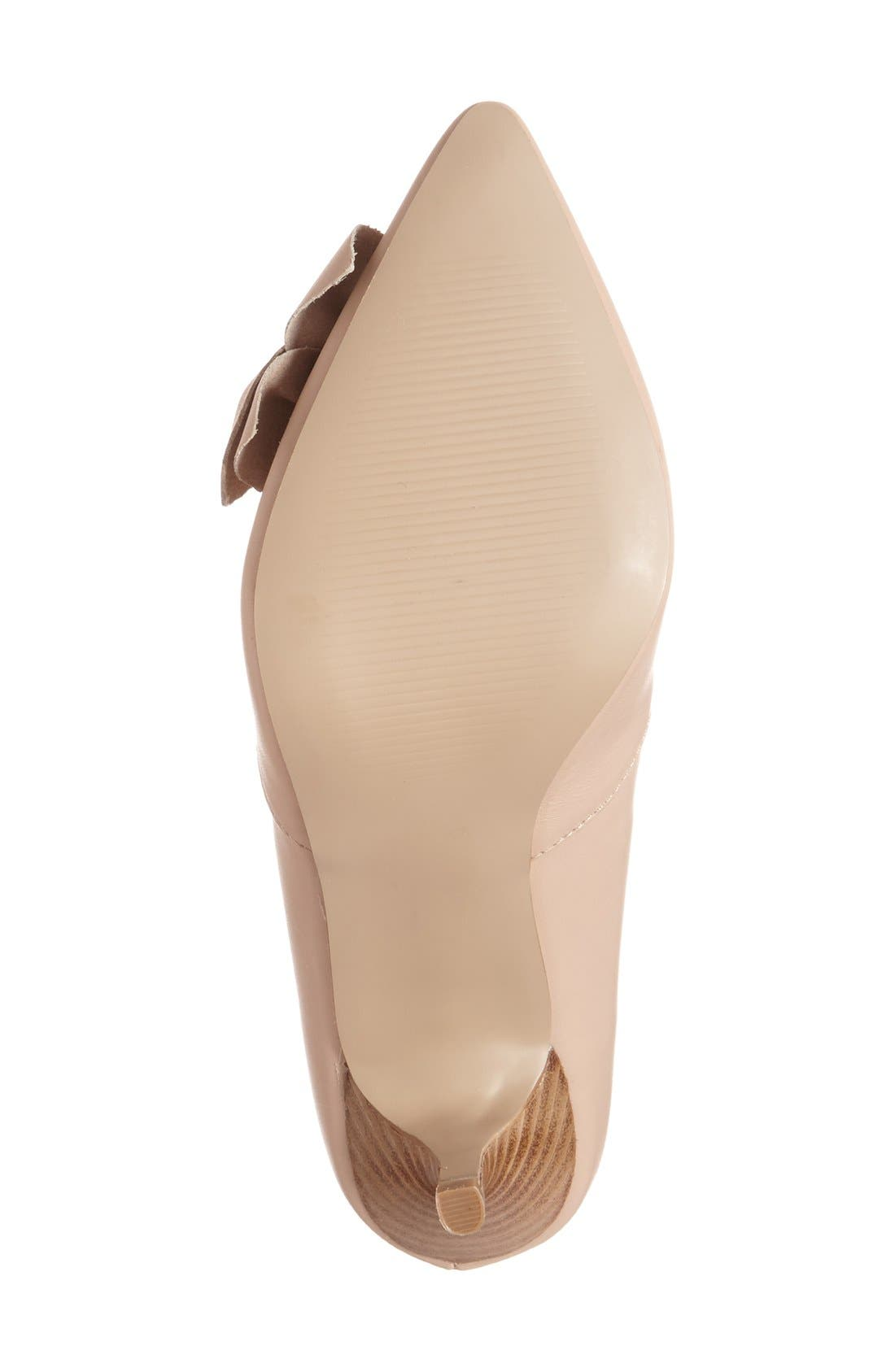 Alternate Image 4  - Sole Society 'Aveline' Pointy Toe Pump (Women)