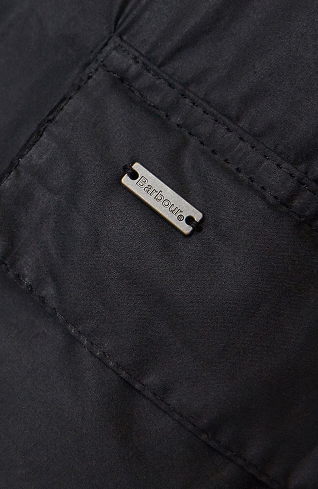 Alternate Image 4  - Barbour 'Sapper' Tailored Fit Weatherproof Waxed Jacket