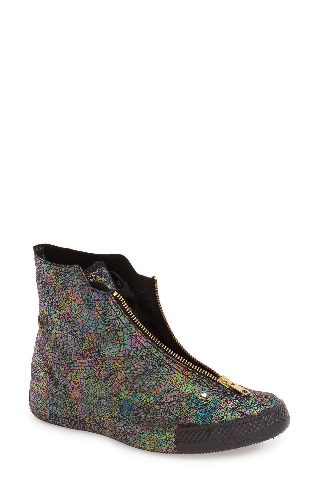 Alternate Image 1 Selected - Converse Chuck Taylor® All Star® 'Oil Slick Shroud' High Top Sneaker (Women)