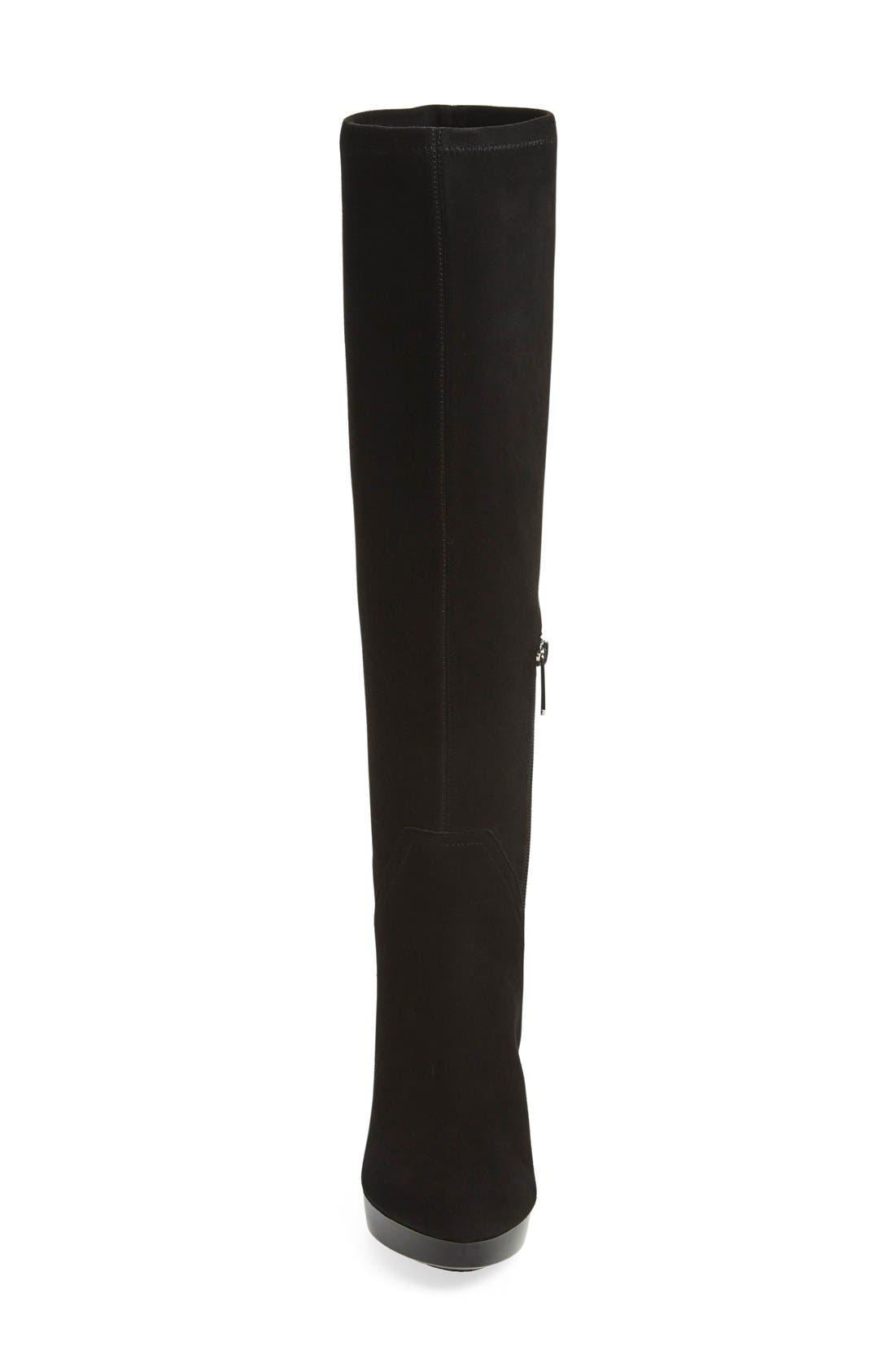 Alternate Image 3  - Donald J Pliner 'Echoe' Stretch Suede Tall Boot (Women)