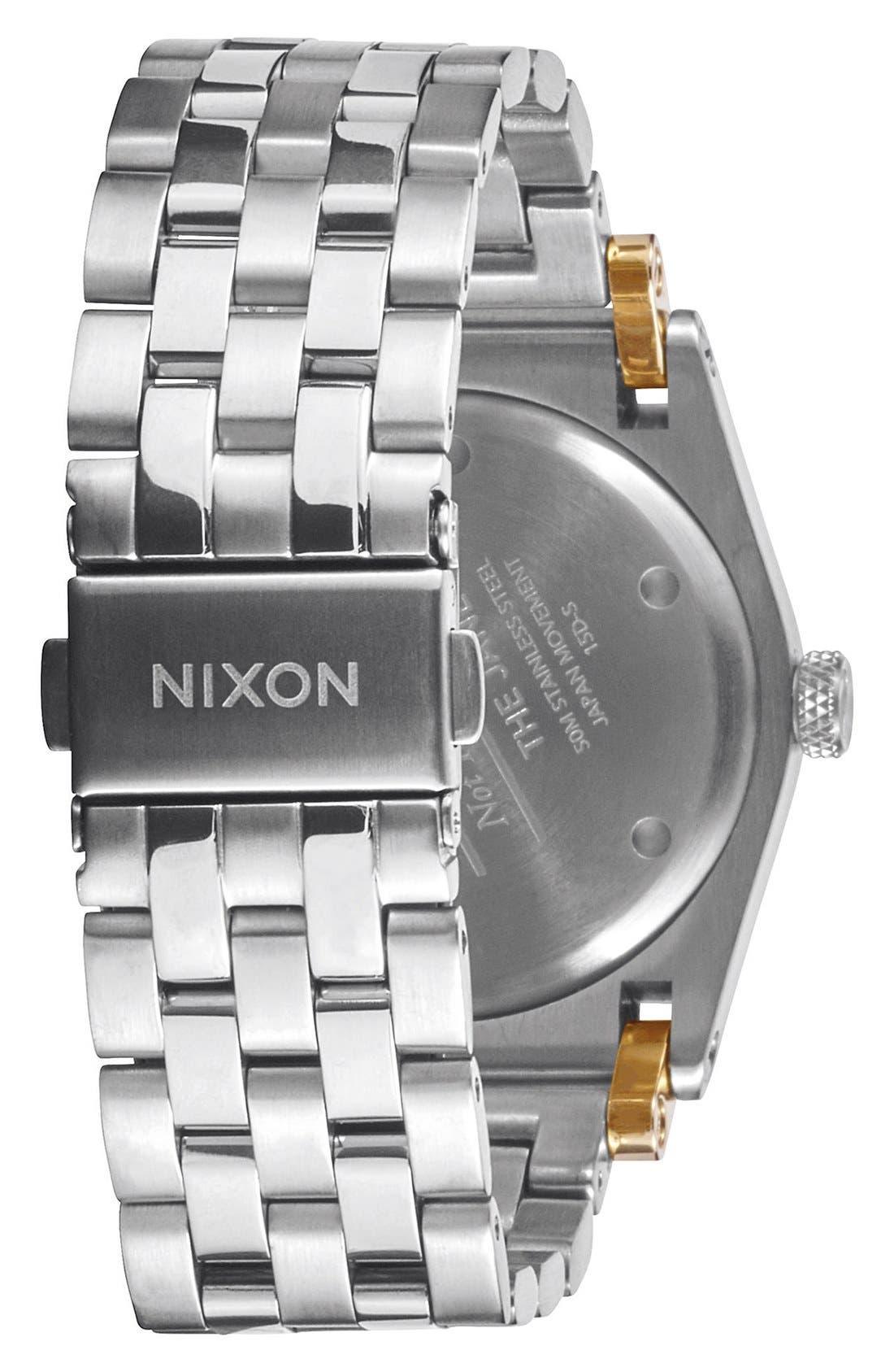 'Jane' Bracelet Watch, 35mm,                             Alternate thumbnail 2, color,                             Silver/ White
