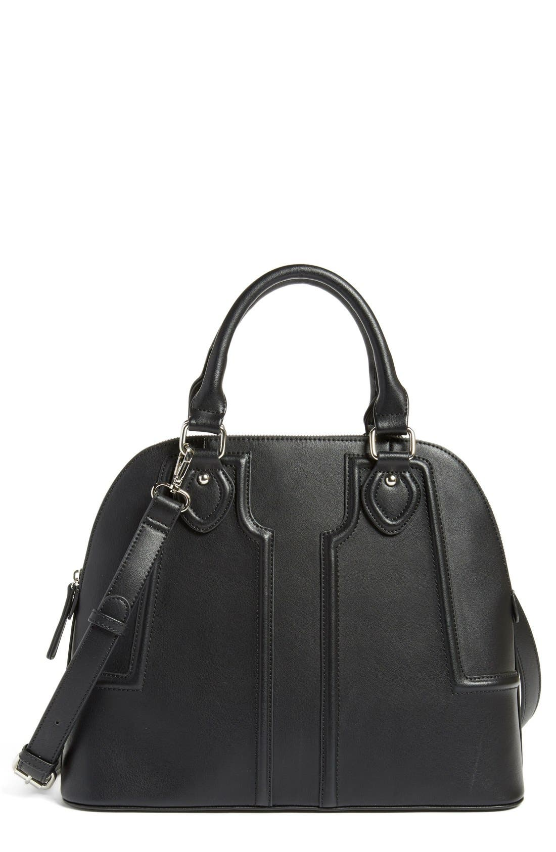 Main Image - Sole Society 'Marlow' Structured Dome Satchel