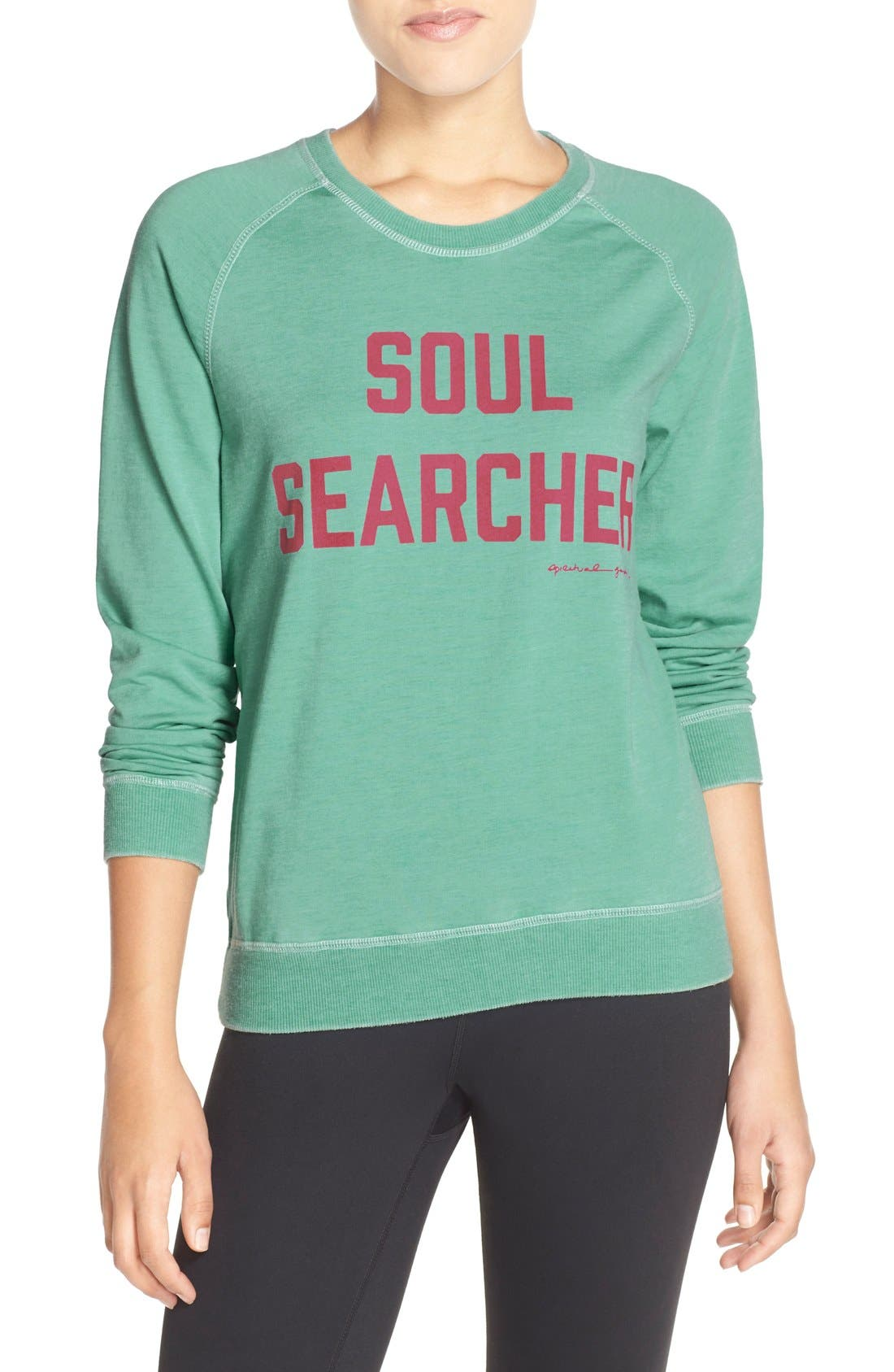 Alternate Image 1 Selected - Spiritual Gangster 'Soul Searcher' Sweatshirt