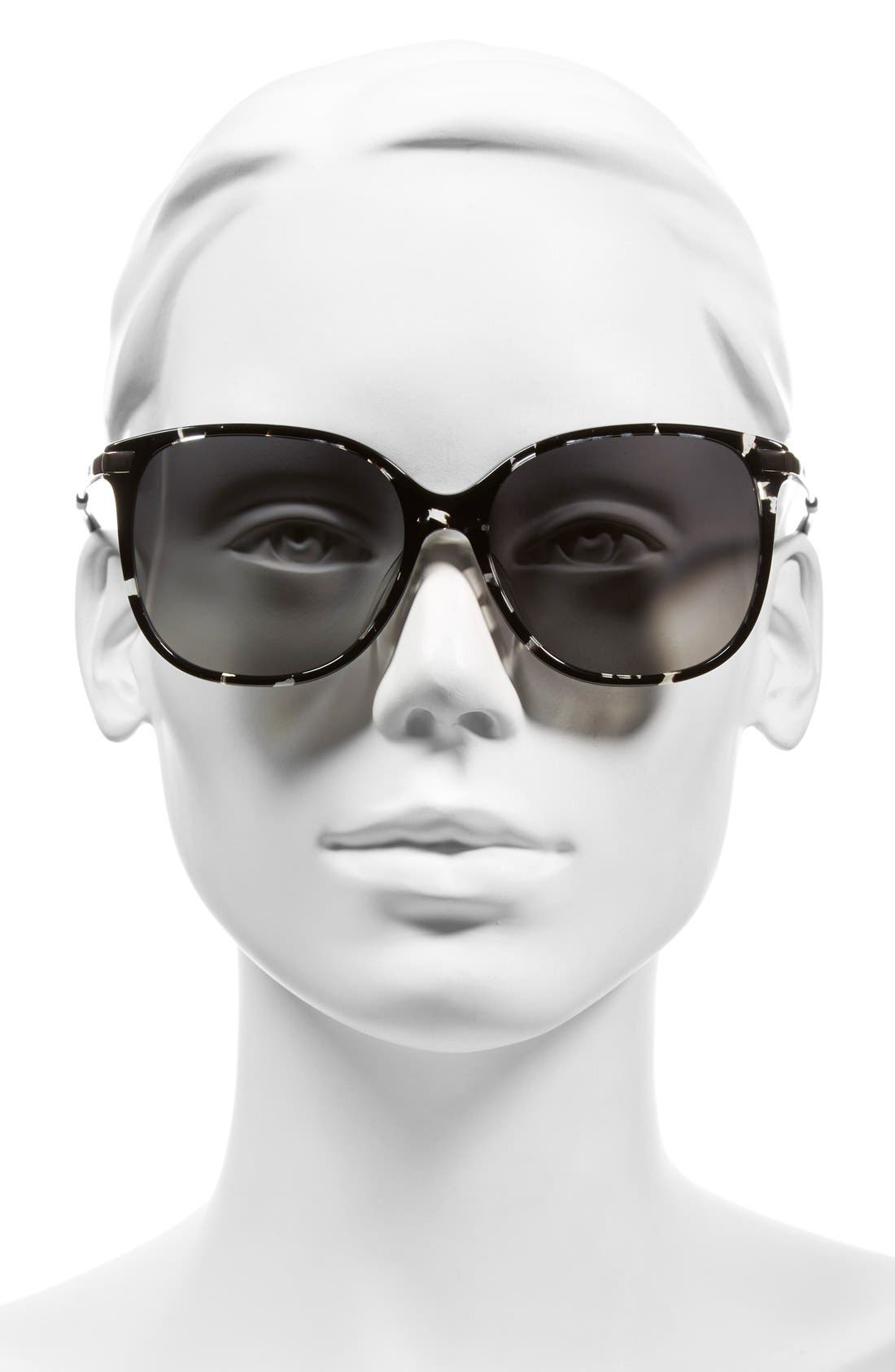 Alternate Image 2  - TOMS 'Sandela' 56mm Sunglasses