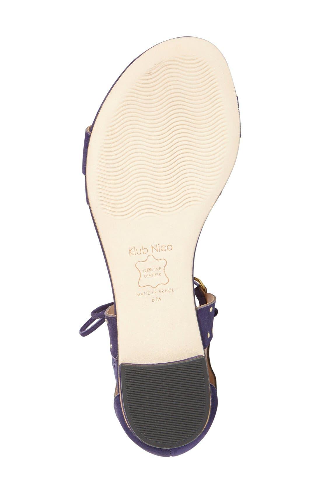 Alternate Image 4  - Klub Nico 'Jae' Gladiator Sandal (Women)