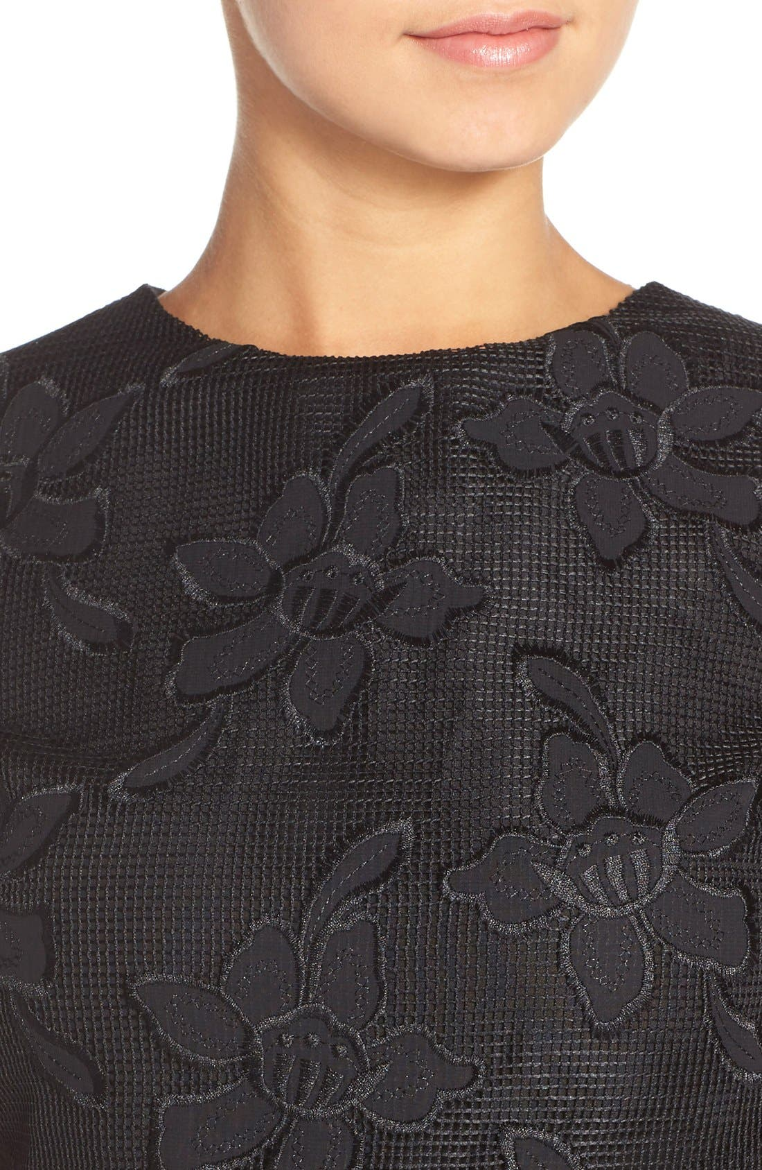 Alternate Image 4  - Ali & Jay Lace Embroidered Two-Piece Dress