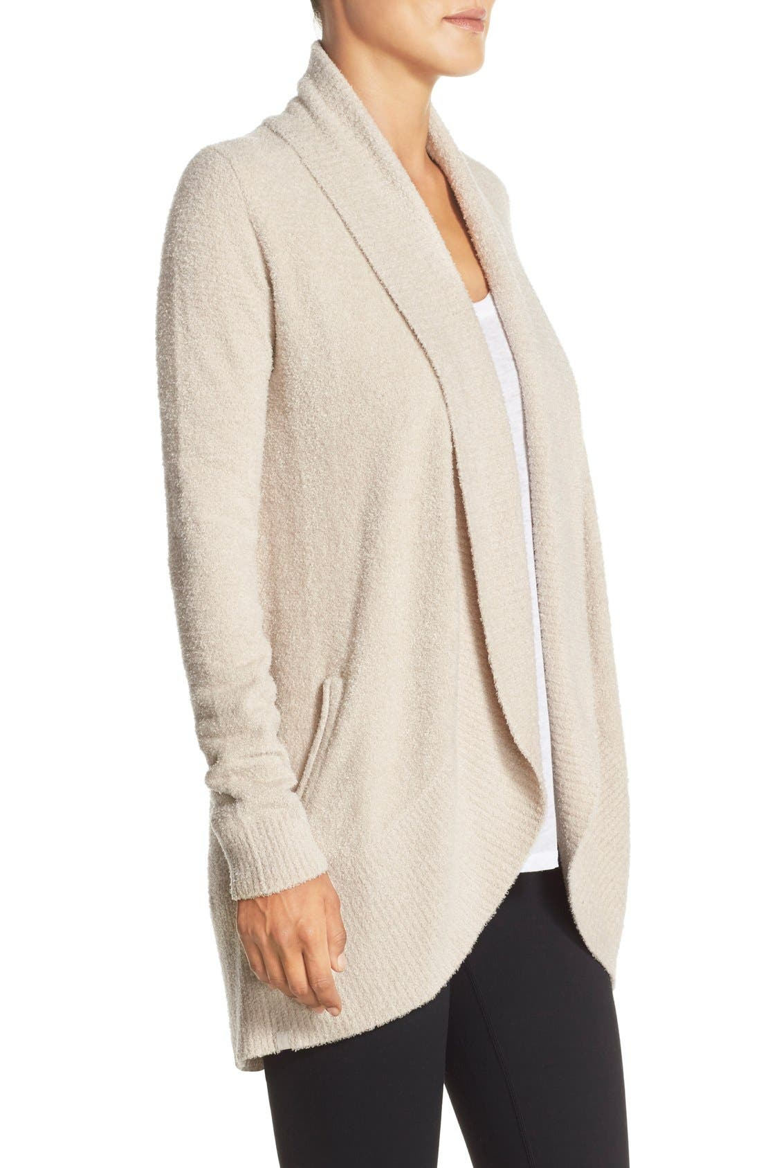 Alternate Image 3  - Barefoot Dreams® CozyChic Lite® Circle Cardigan