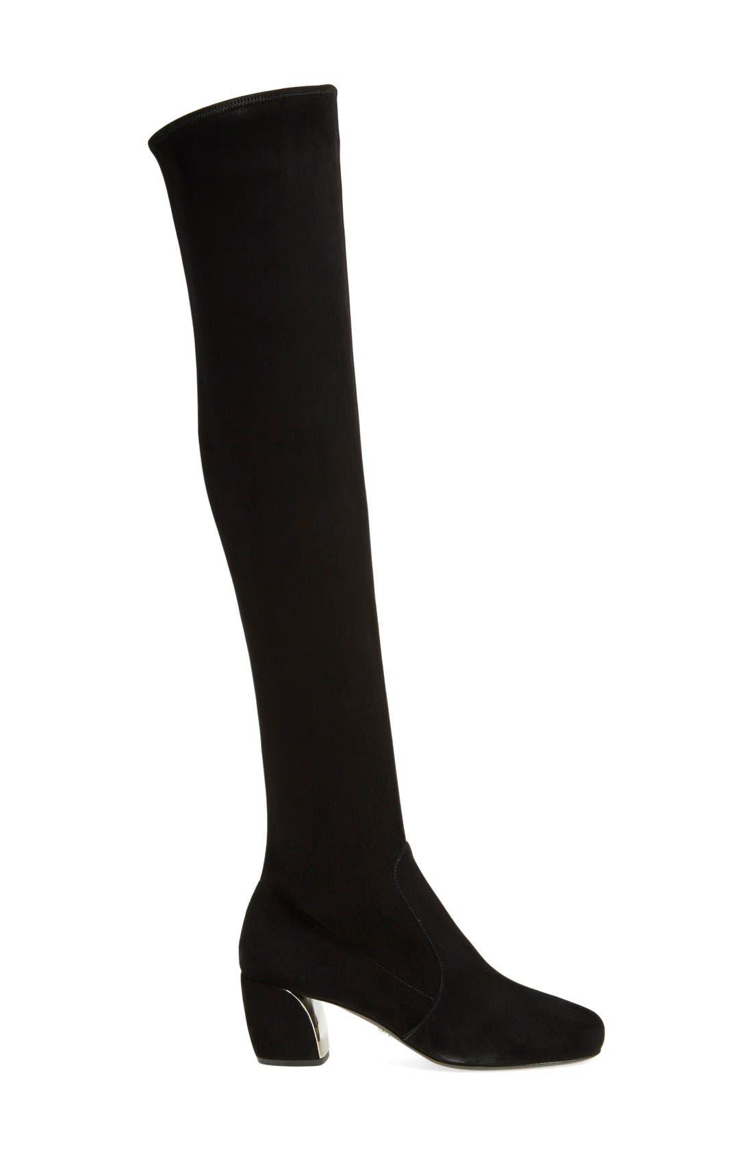 Alternate Image 4  - Prada Over the Knee Boot (Women)