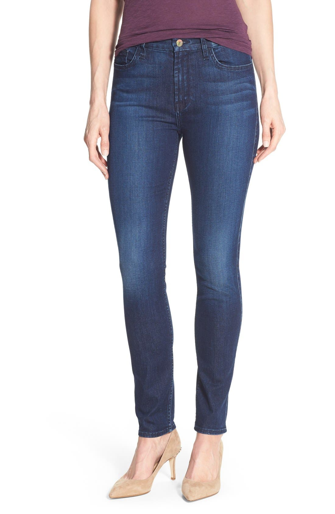 Jen7 Stretch Skinny Jeans (Imperial Blue)