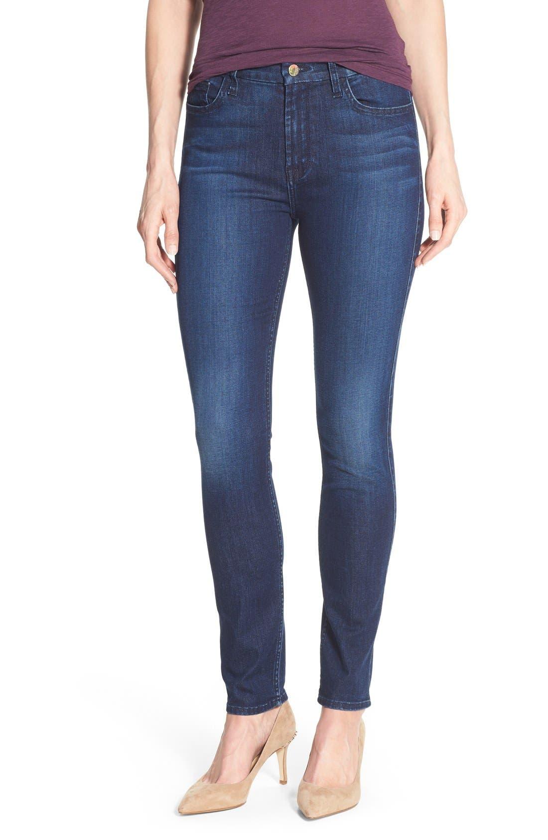 Jen7 Stretch Skinny Jeans (Imperial Blue)