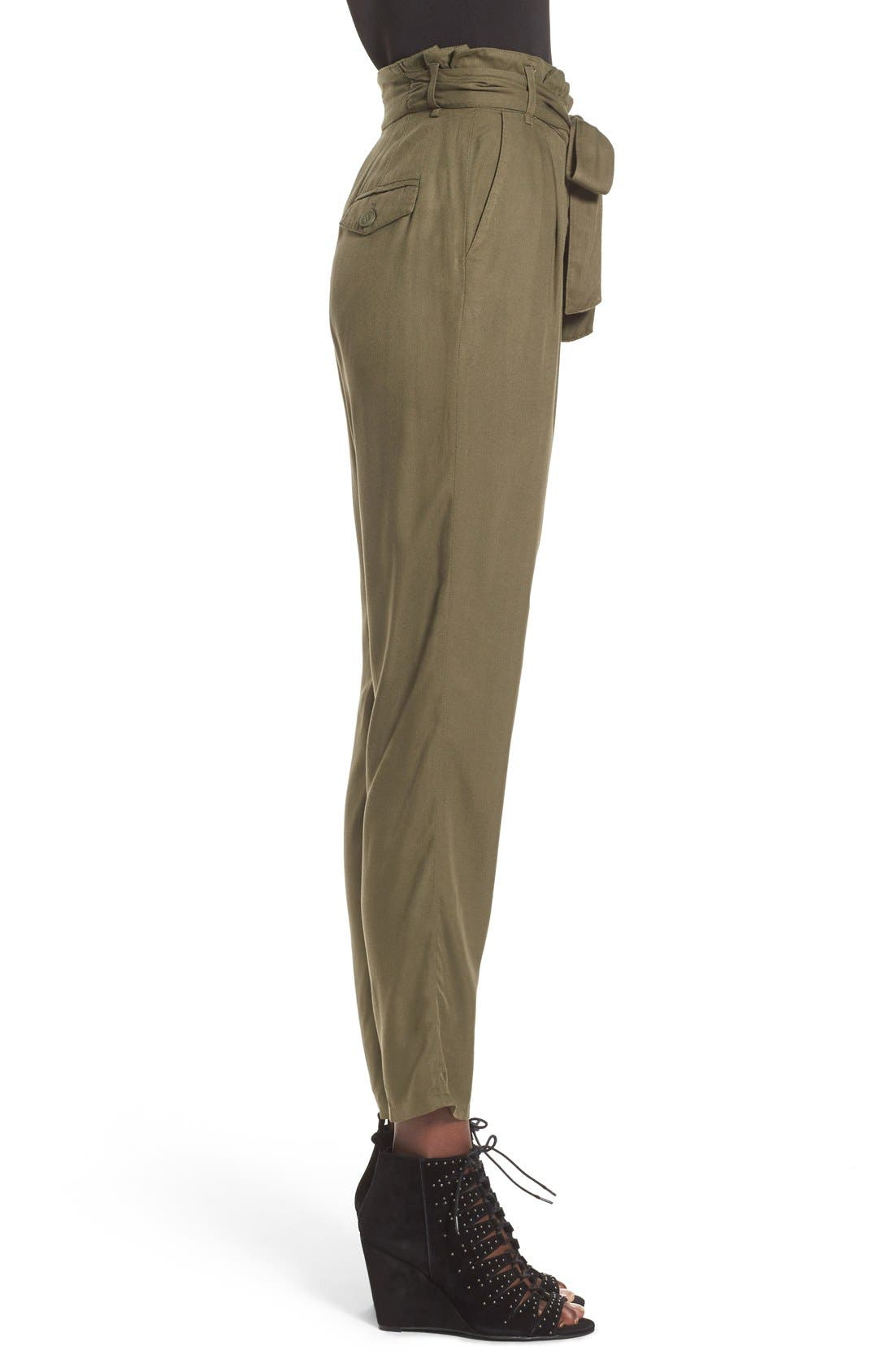 Alternate Image 3  - Leith Tie Waist Pants