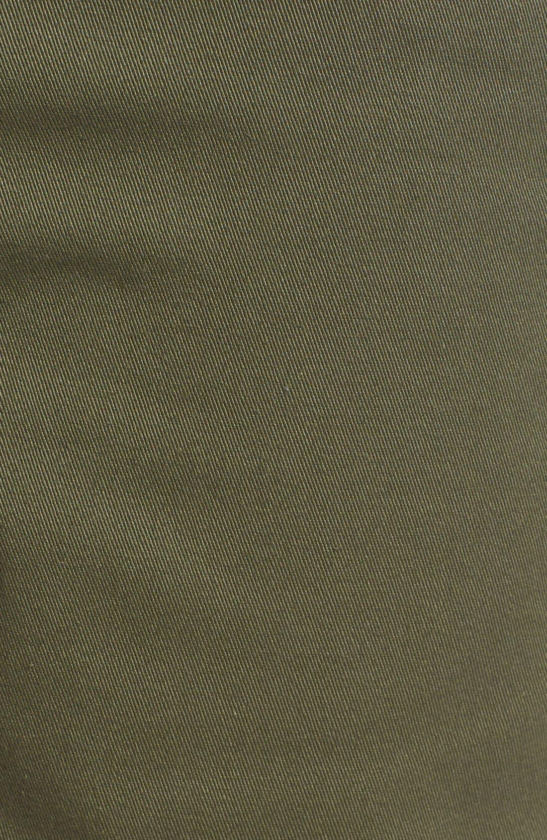 'Covina II - Anthony Van Engelen' Twill Shorts,                             Alternate thumbnail 5, color,                             Grape Leaf