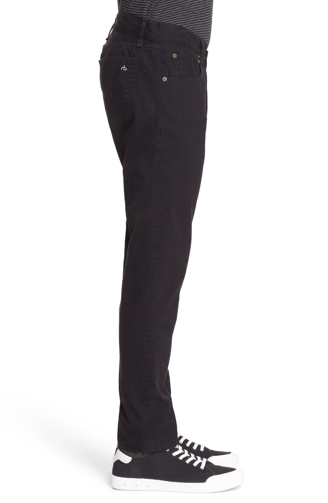 Alternate Image 3  - rag & bone 'Fit 2' Cotton Twill Pants (Nordstrom Exclusive)