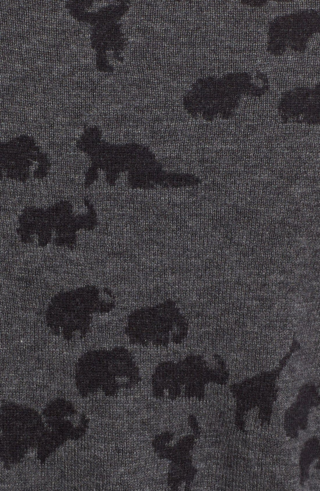 Alternate Image 3  - MARC JACOBS Animal Jacquard Cashmere Sweater