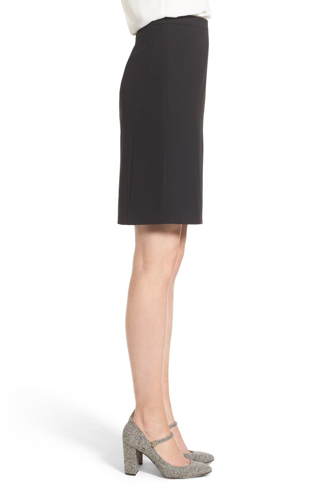 Alternate Image 4  - Halogen® Ela Suit Skirt (Regular & Petite)