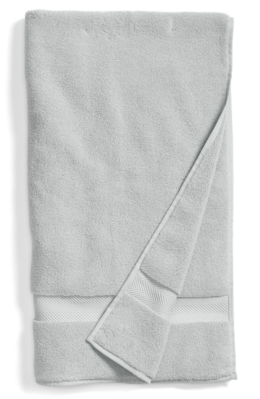 Hydrocotton Bath Towel,                             Main thumbnail 1, color,                             Grey Vapor