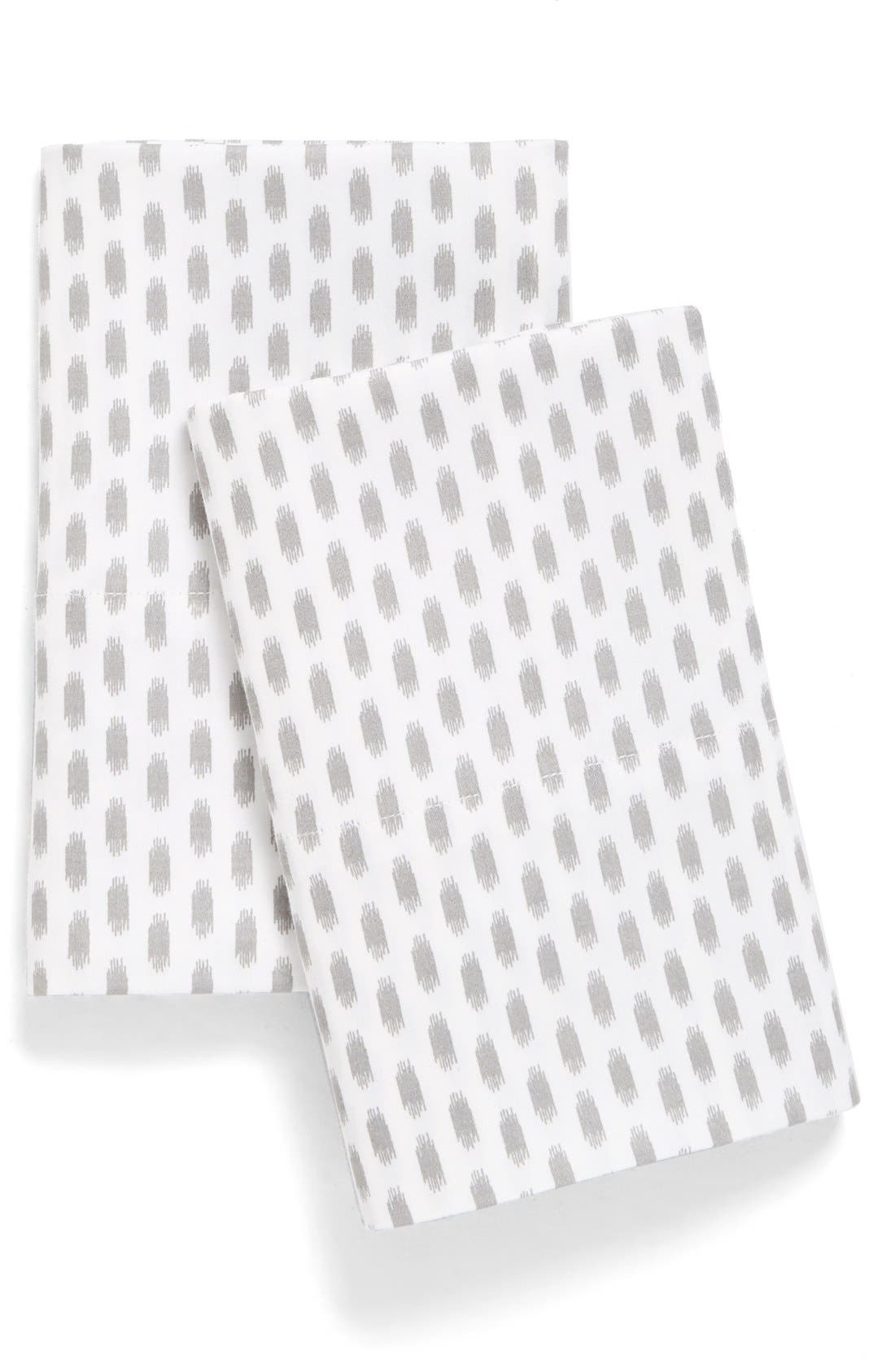 Alternate Image 1 Selected - Nordstrom at Home Ikat Dot Pillowcases (Set of 2)