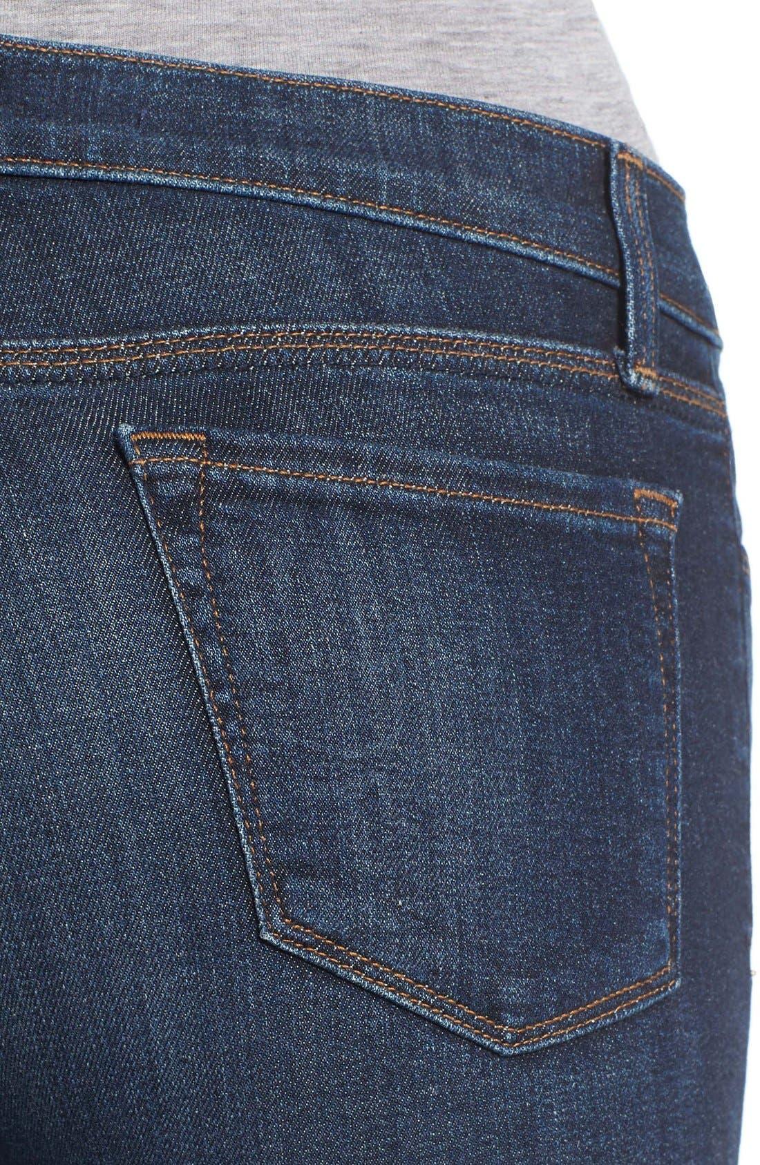 Alternate Image 4  - J Brand 'Maria' Skinny Jeans (Oblivion)