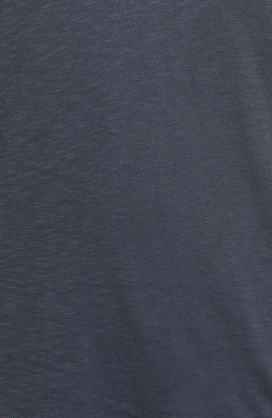 Alternate Image 5  - Caslon® Rounded V-Neck Tee (Regular & Petite)