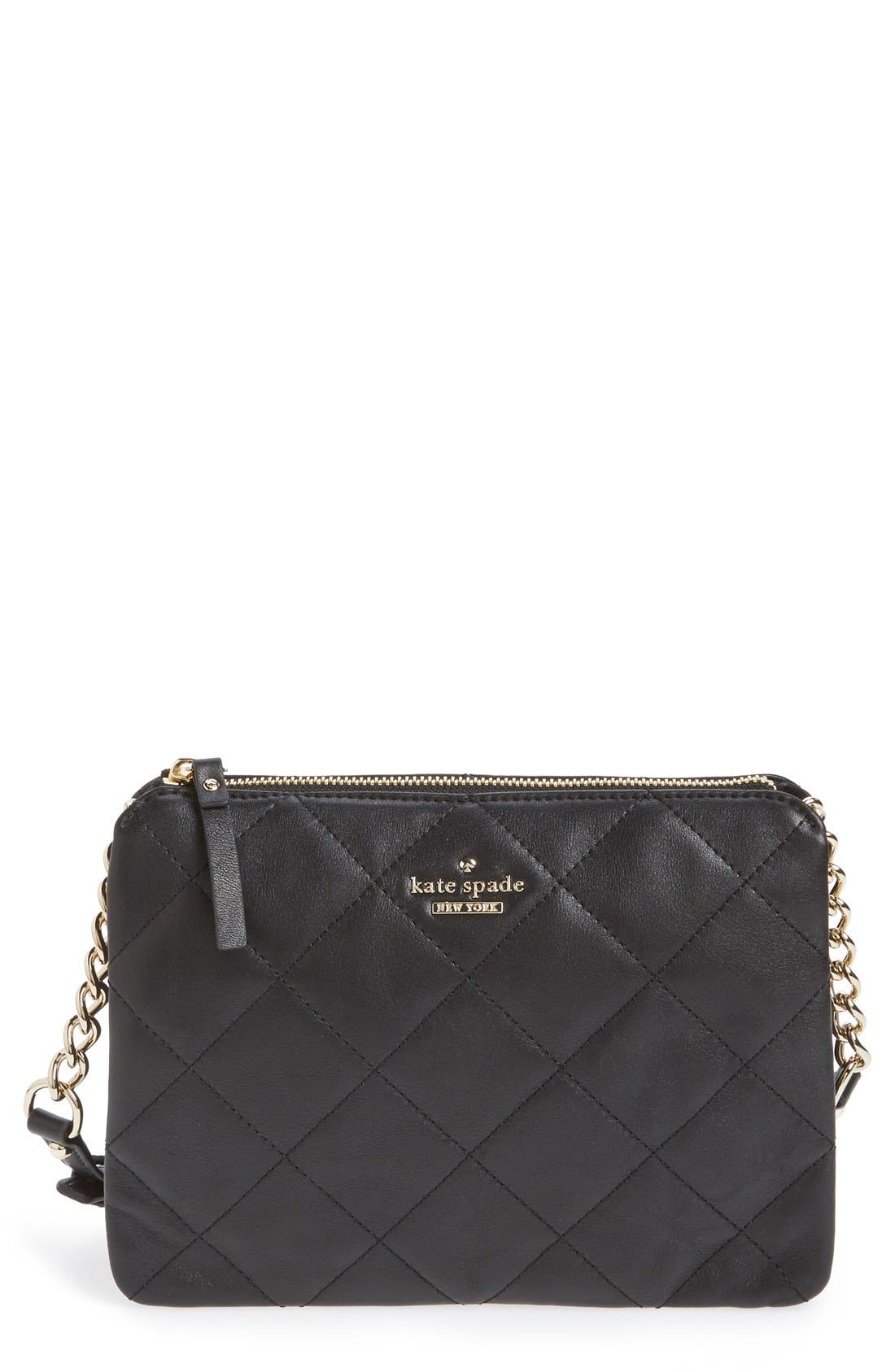 Main Image - kate spade new york emerson place harbor leather crossbody bag