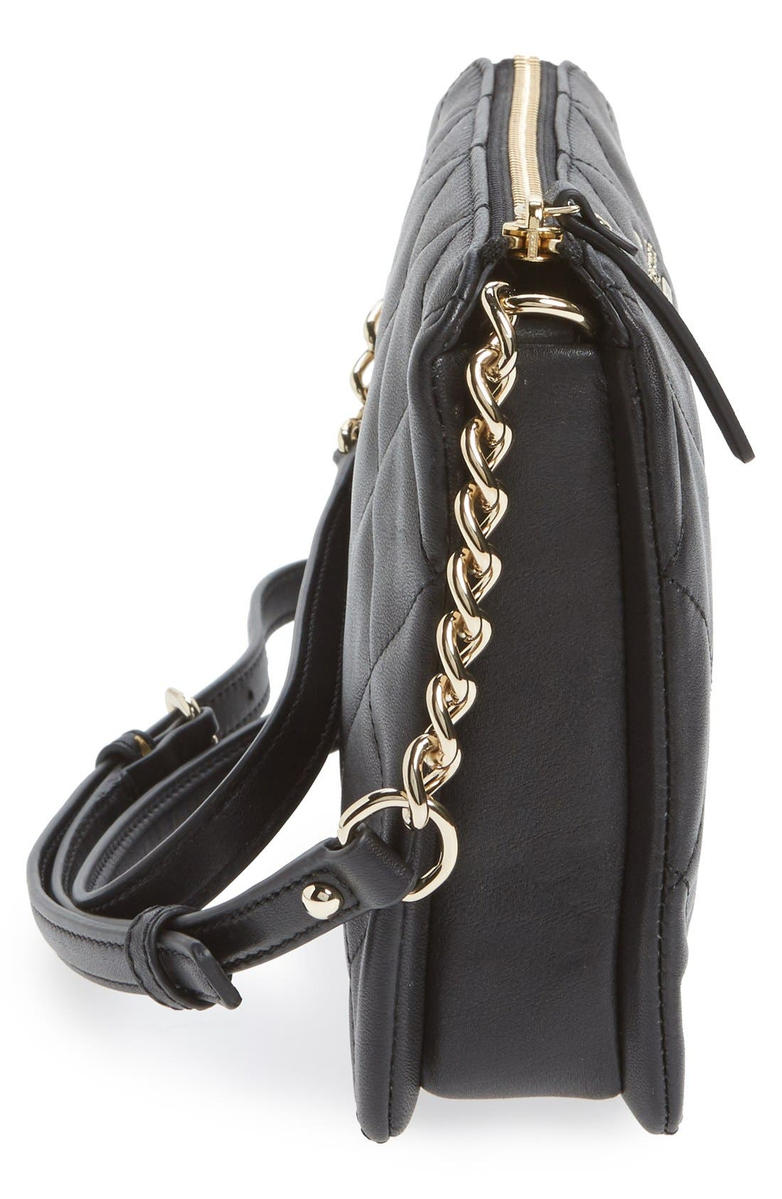 Alternate Image 5  - kate spade new york emerson place harbor leather crossbody bag
