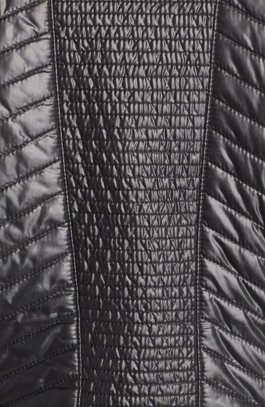 Alternate Image 5  - Zella Double Breasted Quilted Jacket